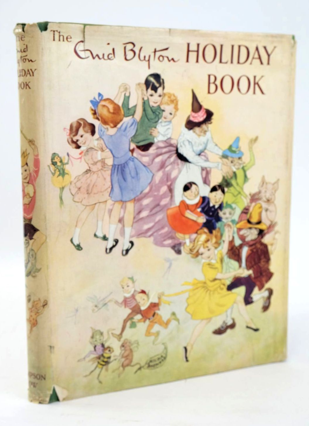 Photo of THE ENID BLYTON HOLIDAY BOOK written by Blyton, Enid published by Sampson Low, Marston & Co. Ltd. (STOCK CODE: 1319450)  for sale by Stella & Rose's Books
