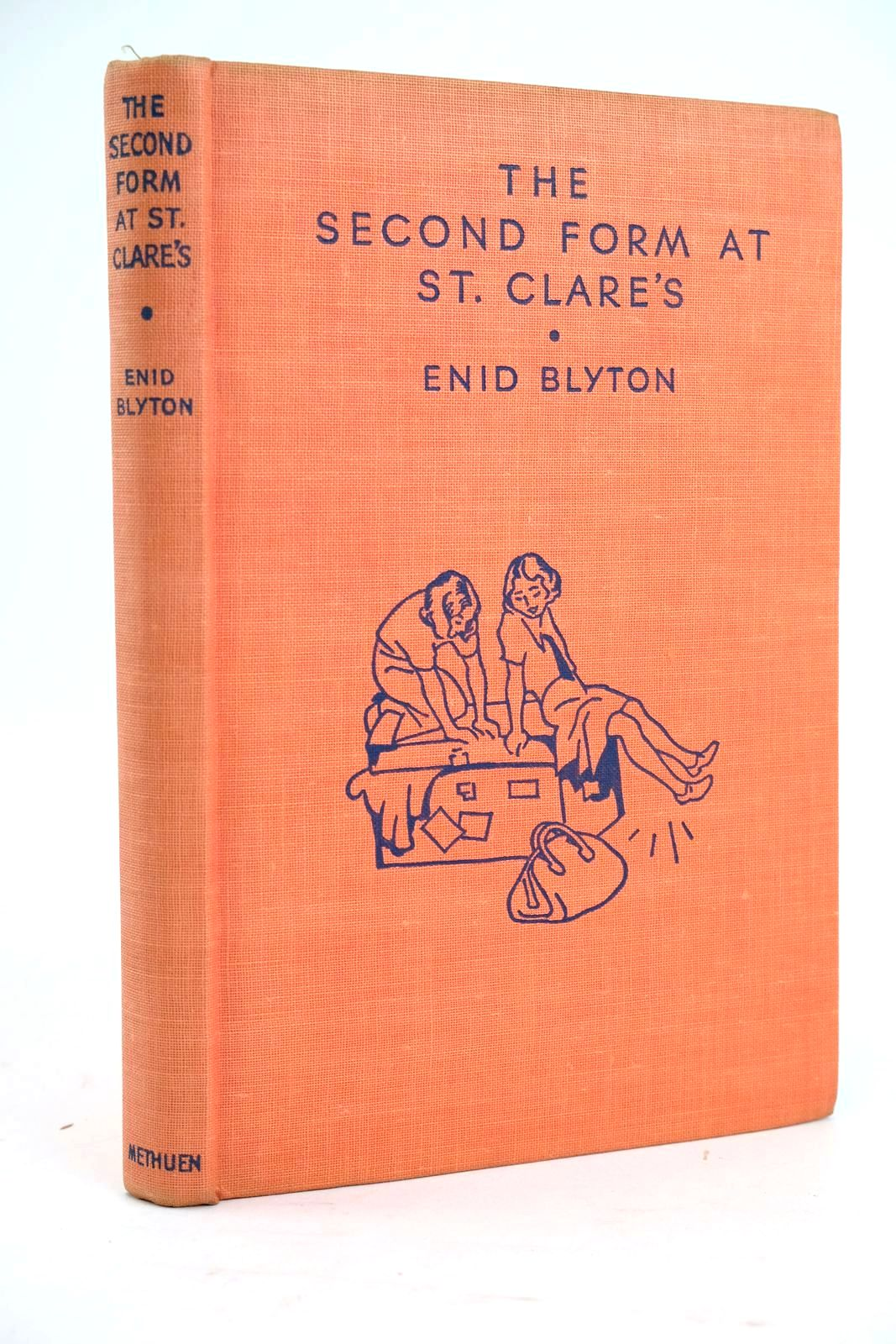 Photo of THE SECOND FORM AT ST. CLARE'S written by Blyton, Enid illustrated by Cable, W. Lindsay published by Methuen & Co. Ltd. (STOCK CODE: 1319454)  for sale by Stella & Rose's Books