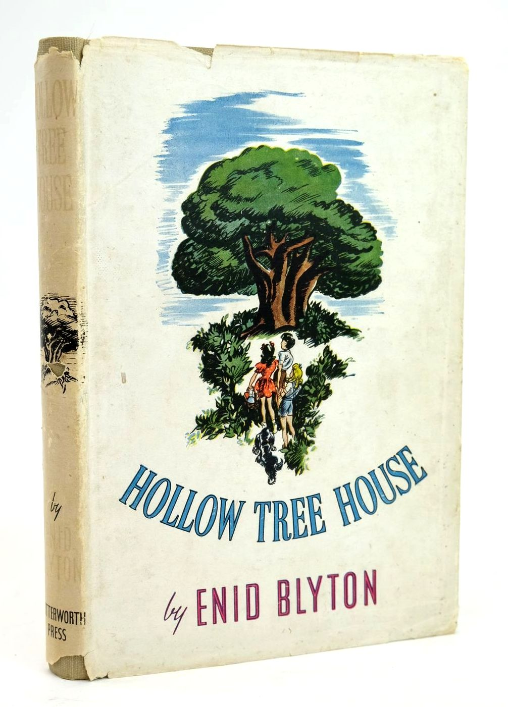 Photo of HOLLOW TREE HOUSE written by Blyton, Enid illustrated by Wall, Elizabeth published by Lutterworth Press (STOCK CODE: 1319456)  for sale by Stella & Rose's Books