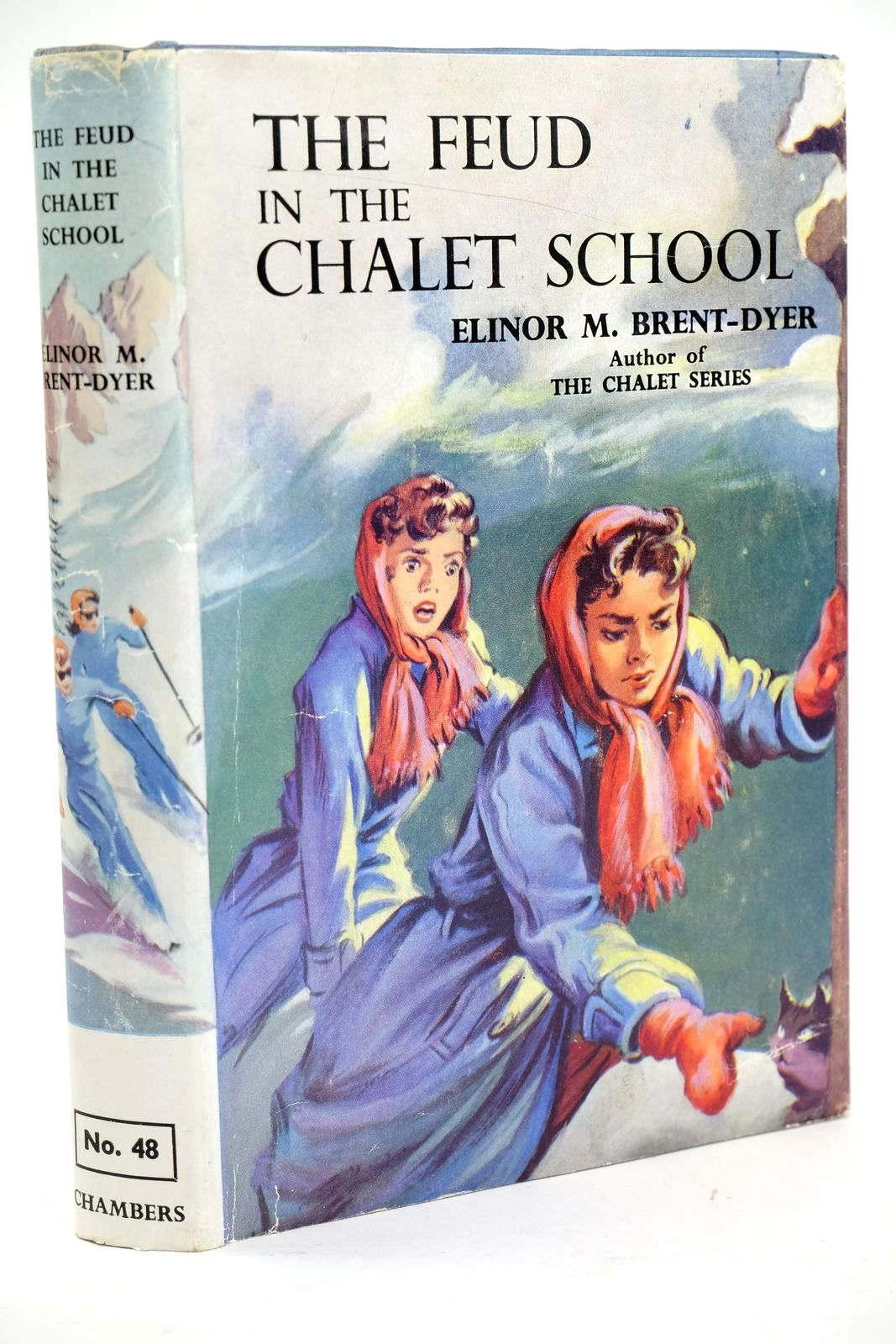 Photo of THE FEUD IN THE CHALET SCHOOL written by Brent-Dyer, Elinor M. illustrated by Brook, D. published by W. & R. Chambers Limited (STOCK CODE: 1319458)  for sale by Stella & Rose's Books
