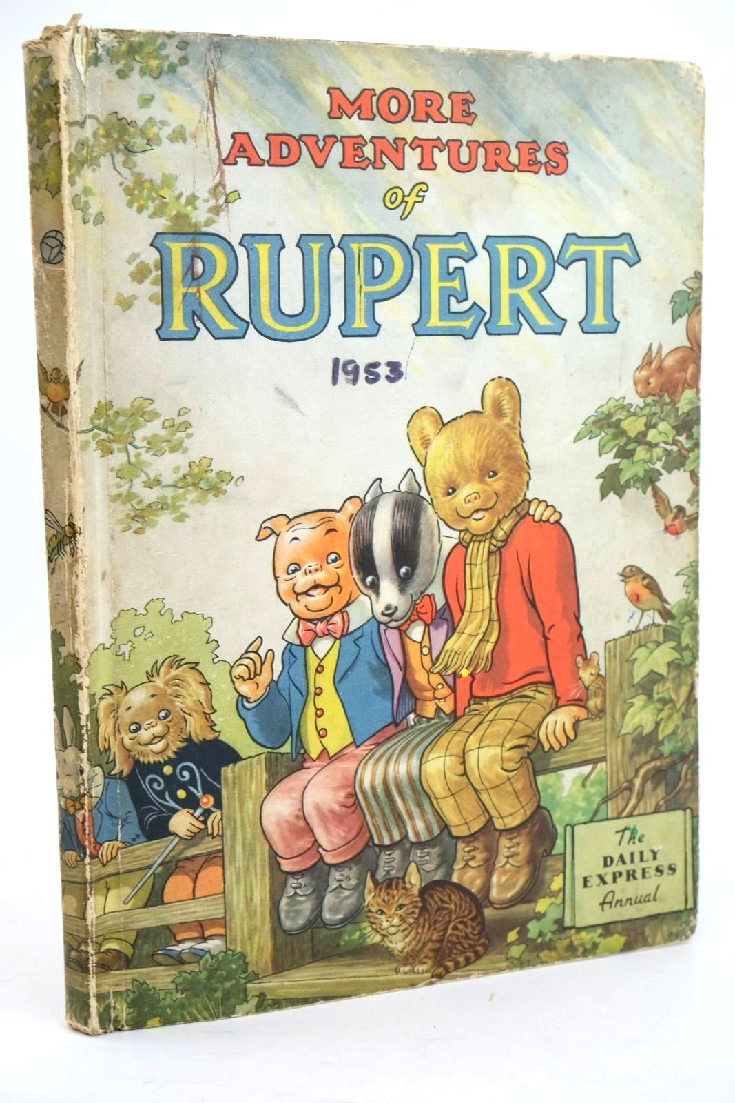 Photo of RUPERT ANNUAL 1953 - MORE ADVENTURES OF RUPERT written by Bestall, Alfred illustrated by Bestall, Alfred published by Daily Express (STOCK CODE: 1319462)  for sale by Stella & Rose's Books