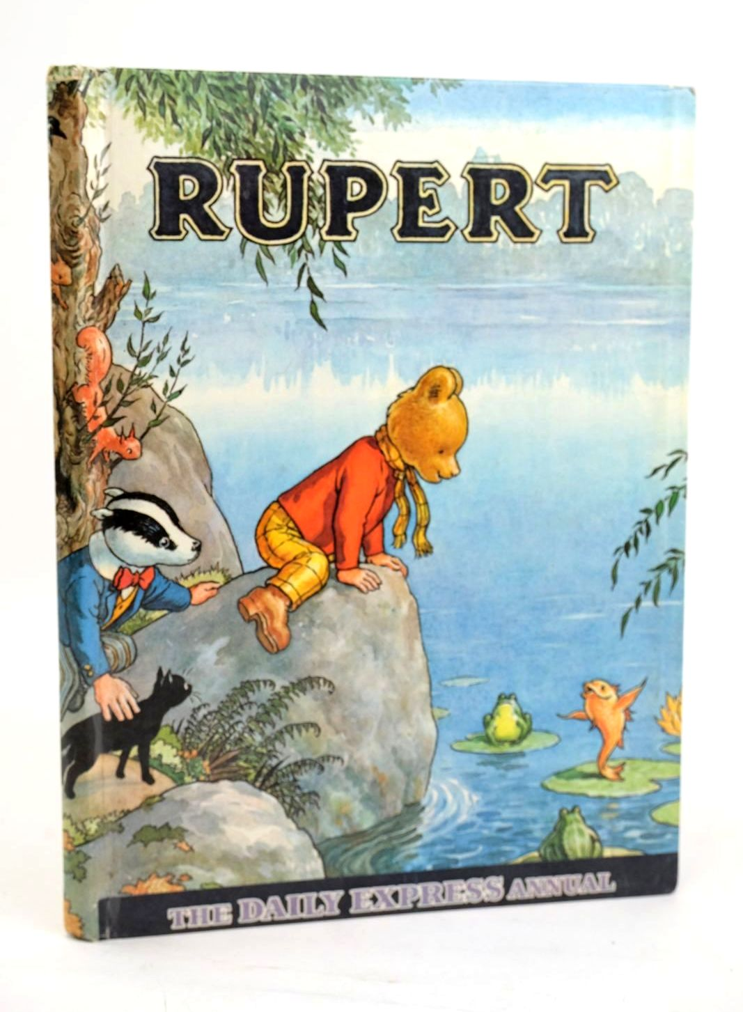 Photo of RUPERT ANNUAL 1969 written by Bestall, Alfred illustrated by Bestall, Alfred published by Daily Express (STOCK CODE: 1319467)  for sale by Stella & Rose's Books