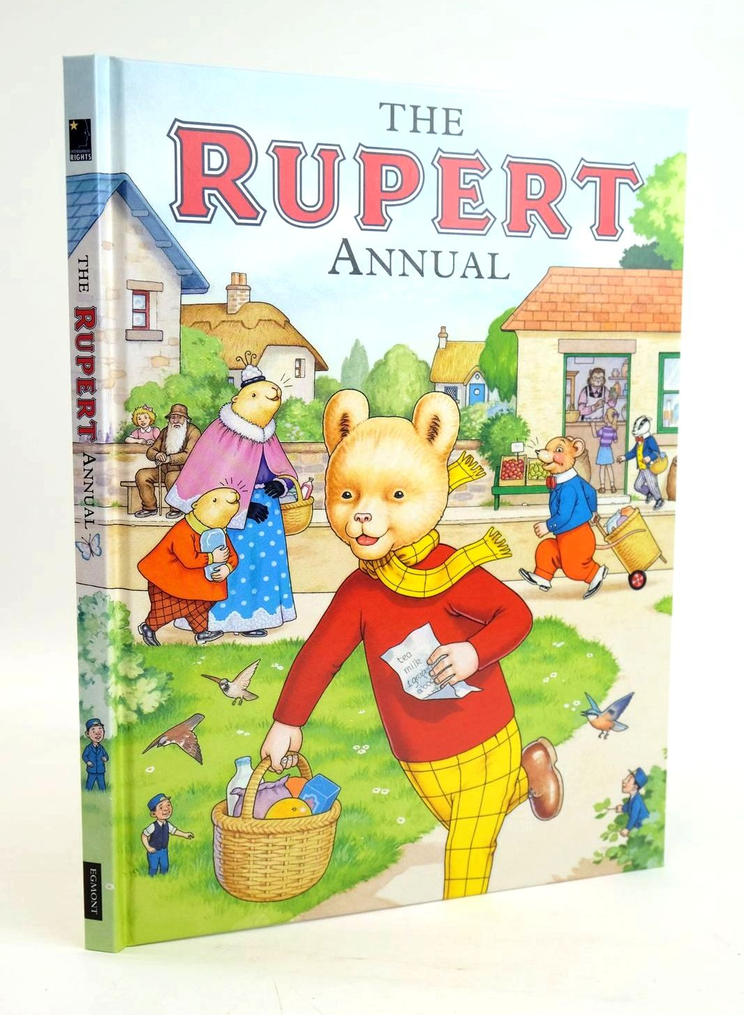 Photo of RUPERT ANNUAL 2007 written by Henderson, James illustrated by Harrold, John published by Egmont Uk Limited (STOCK CODE: 1319472)  for sale by Stella & Rose's Books
