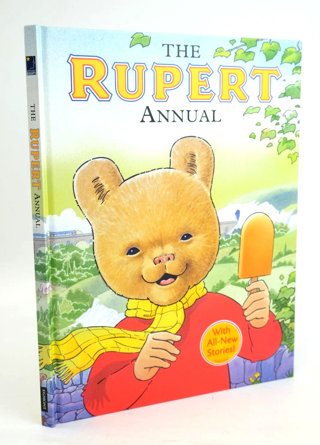 Photo of RUPERT ANNUAL 2008 written by Trotter, Stuart Bowles, Anna illustrated by Trotter, Stuart published by Egmont Uk Limited (STOCK CODE: 1319473)  for sale by Stella & Rose's Books