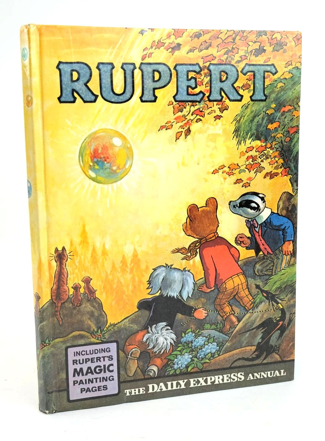 Photo of RUPERT ANNUAL 1968 written by Bestall, Alfred illustrated by Bestall, Alfred published by Daily Express (STOCK CODE: 1319475)  for sale by Stella & Rose's Books