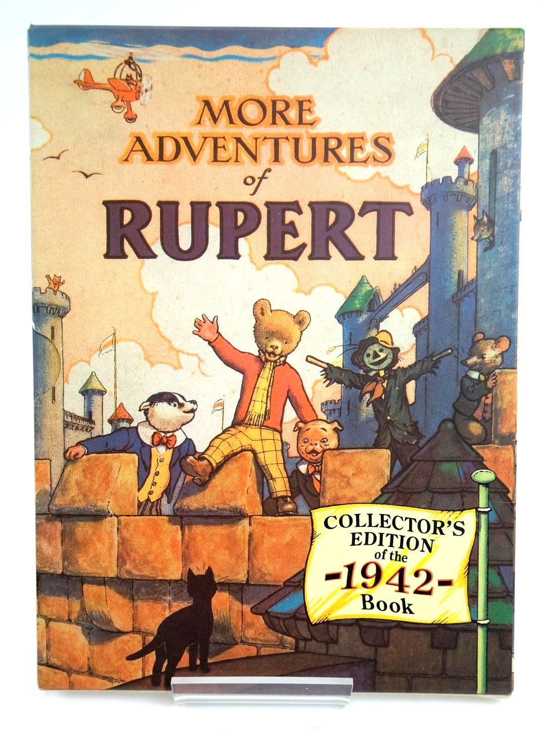 Photo of RUPERT ANNUAL 1942 (FACSIMILE) - MORE ADVENTURES OF RUPERT written by Bestall, Alfred illustrated by Bestall, Alfred published by Pedigree Books Limited (STOCK CODE: 1319479)  for sale by Stella & Rose's Books