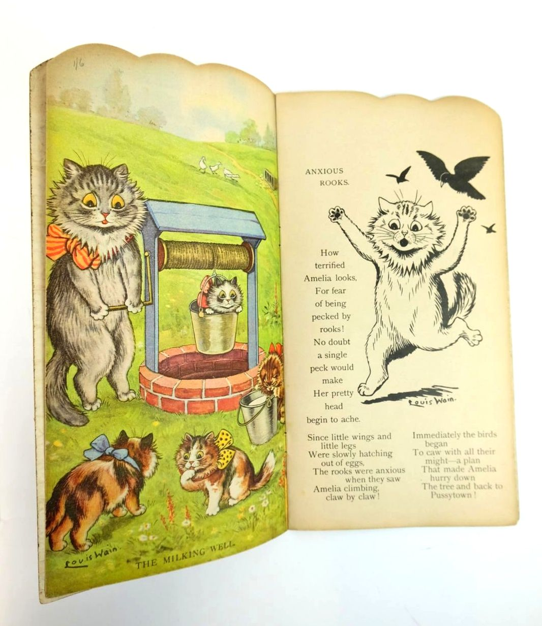 Photo of KITS AND CATS illustrated by Wain, Louis published by Raphael Tuck & Sons Ltd. (STOCK CODE: 1319482)  for sale by Stella & Rose's Books