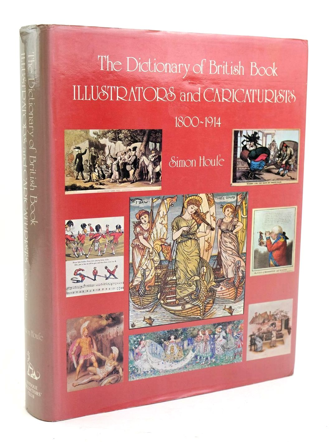 Photo of THE DICTIONARY OF BRITISH BOOK ILLUSTRATORS AND CARICATURISTS 1800-1914 written by Houfe, Simon published by Antique Collectors' Club (STOCK CODE: 1319492)  for sale by Stella & Rose's Books