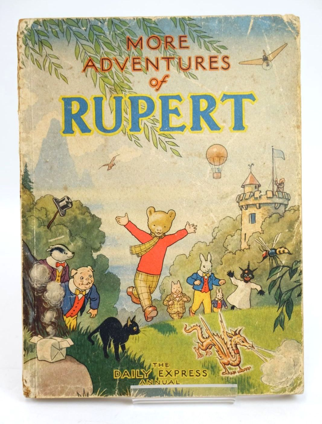 Photo of RUPERT ANNUAL 1947 - MORE ADVENTURES OF RUPERT written by Bestall, Alfred illustrated by Bestall, Alfred published by Daily Express (STOCK CODE: 1319497)  for sale by Stella & Rose's Books