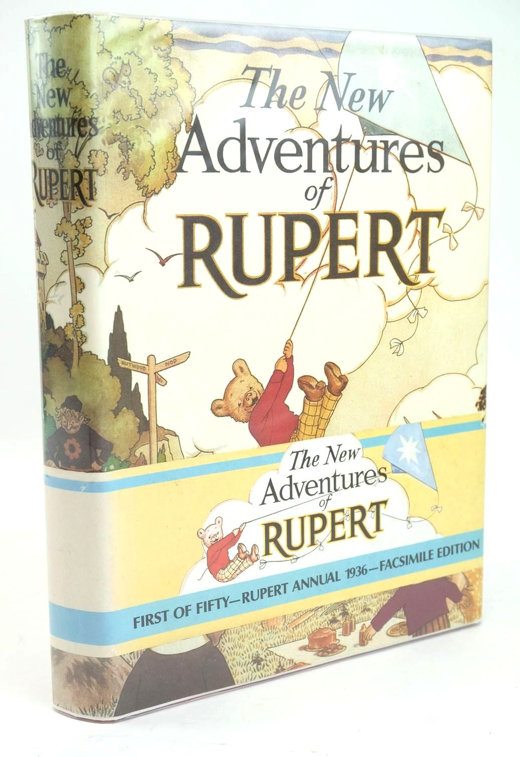 Photo of RUPERT ANNUAL 1936 (FACSIMILE) - THE NEW ADVENTURES OF RUPERT- Stock Number: 1319499