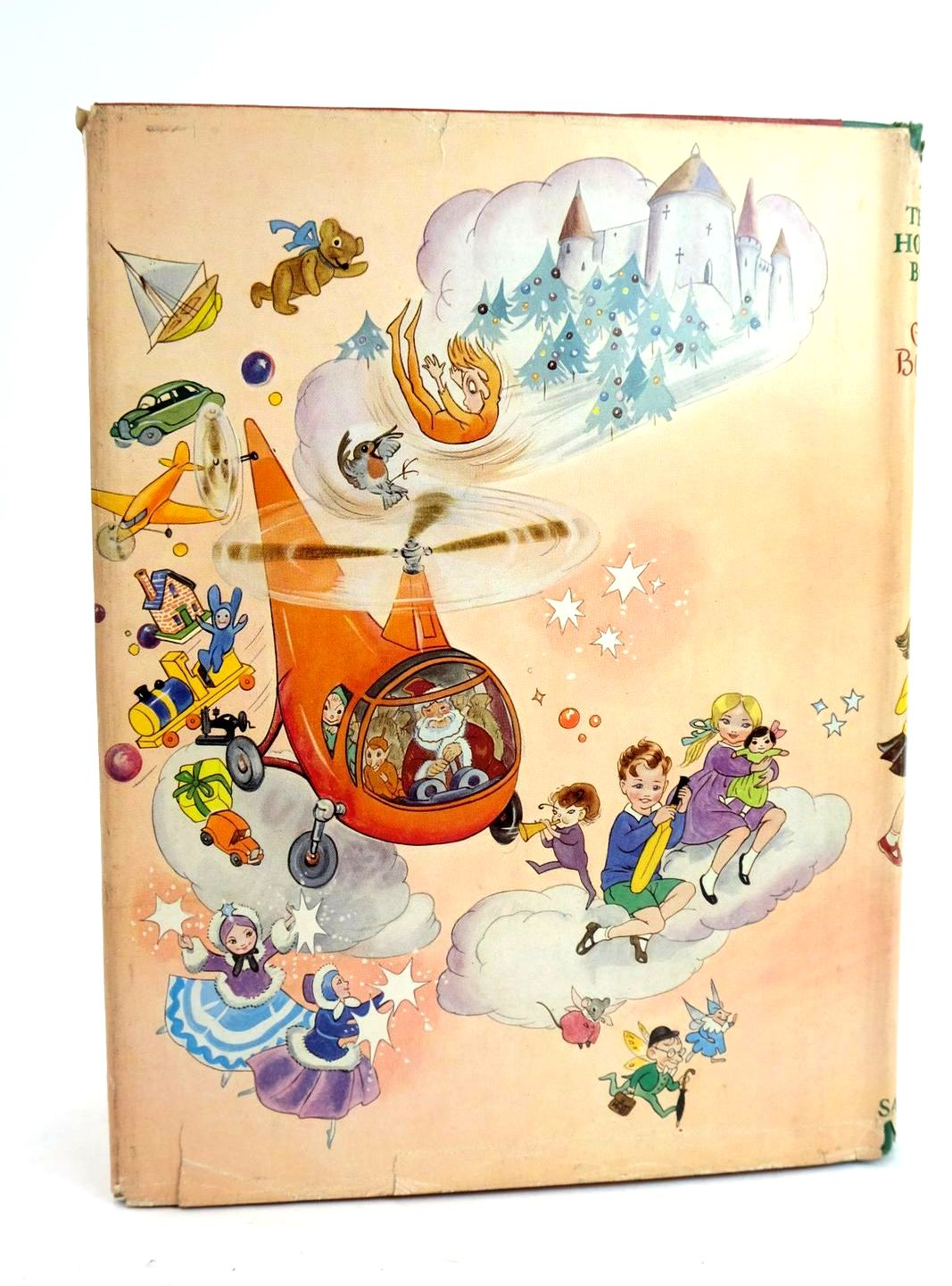 Photo of THE TENTH HOLIDAY BOOK written by Blyton, Enid illustrated by Lodge, Grace MacGillivray, Robert McGavin, Hilda et al.,  published by Sampson Low, Marston & Co. Ltd. (STOCK CODE: 1319508)  for sale by Stella & Rose's Books