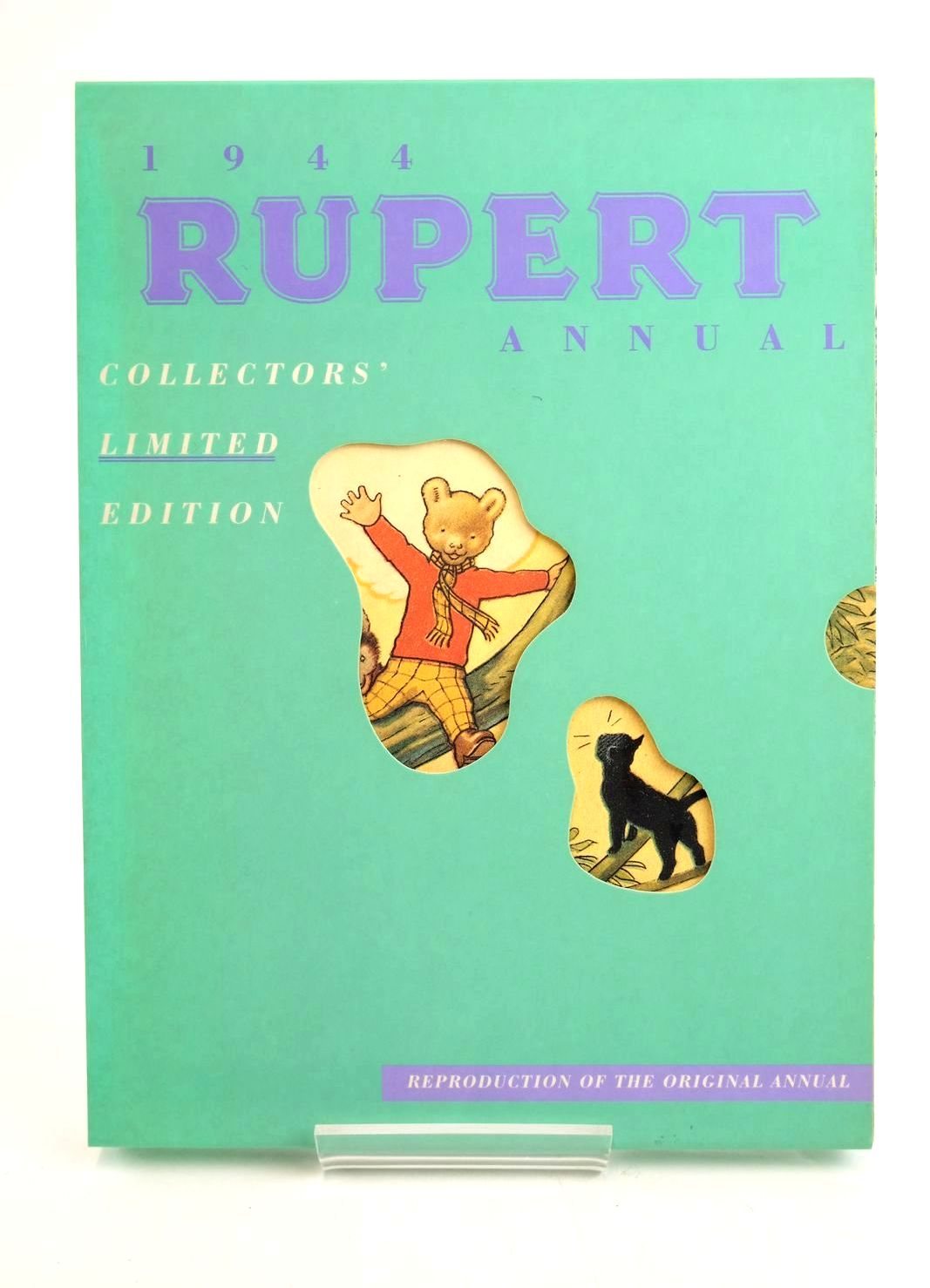Photo of RUPERT ANNUAL 1944 (FACSIMILE) - RUPERT IN MORE ADVENTURES written by Bestall, Alfred illustrated by Bestall, Alfred published by Pedigree Books Limited (STOCK CODE: 1319532)  for sale by Stella & Rose's Books
