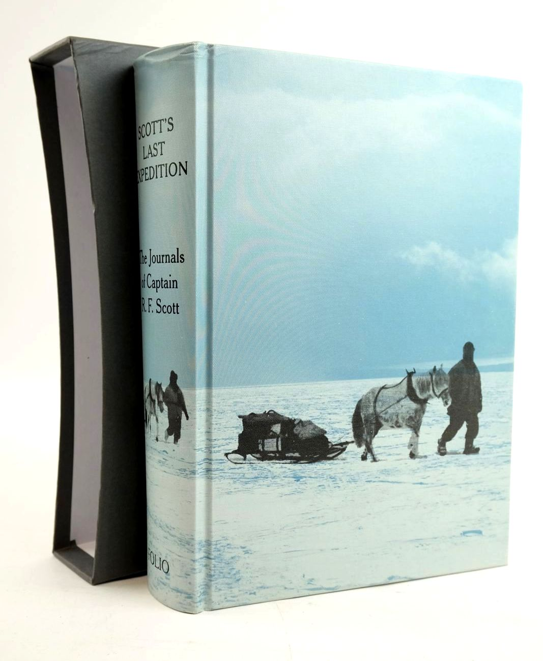 Photo of SCOTT'S LAST EXPEDITION written by Scott, Robert Falcon illustrated by Ponting, Herbert G. published by Folio Society (STOCK CODE: 1319533)  for sale by Stella & Rose's Books