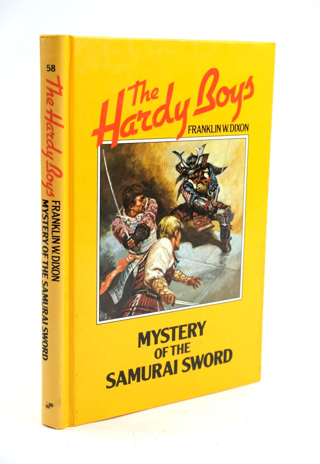 Photo of MYSTERY OF THE SAMURAI SWORD written by Dixon, Franklin W. illustrated by Morrill, Leslie published by Angus & Robertson Publishers (STOCK CODE: 1319547)  for sale by Stella & Rose's Books