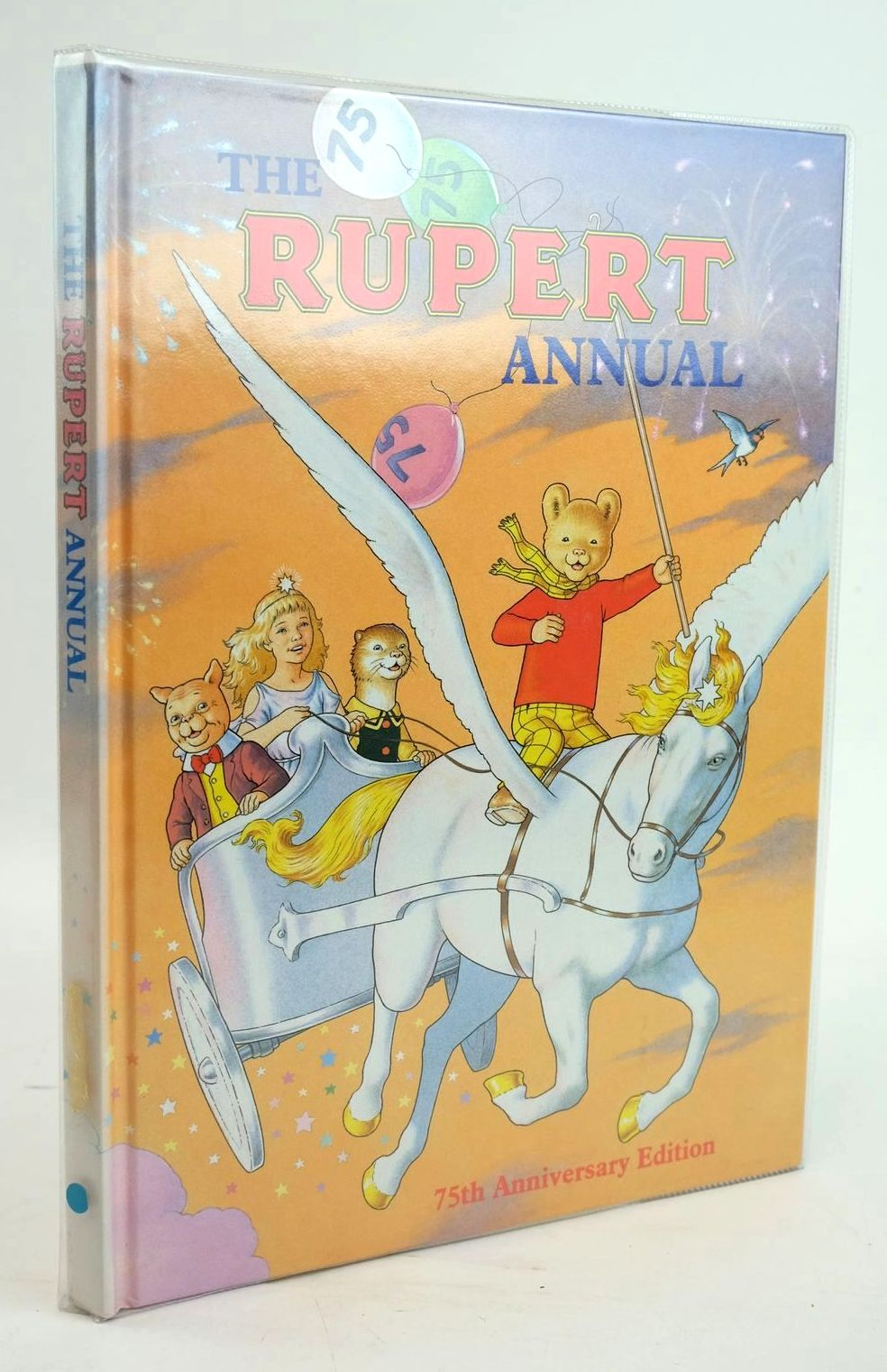 Photo of RUPERT ANNUAL 1995 written by Robinson, Ian illustrated by Harrold, John published by Pedigree Books Limited (STOCK CODE: 1319563)  for sale by Stella & Rose's Books