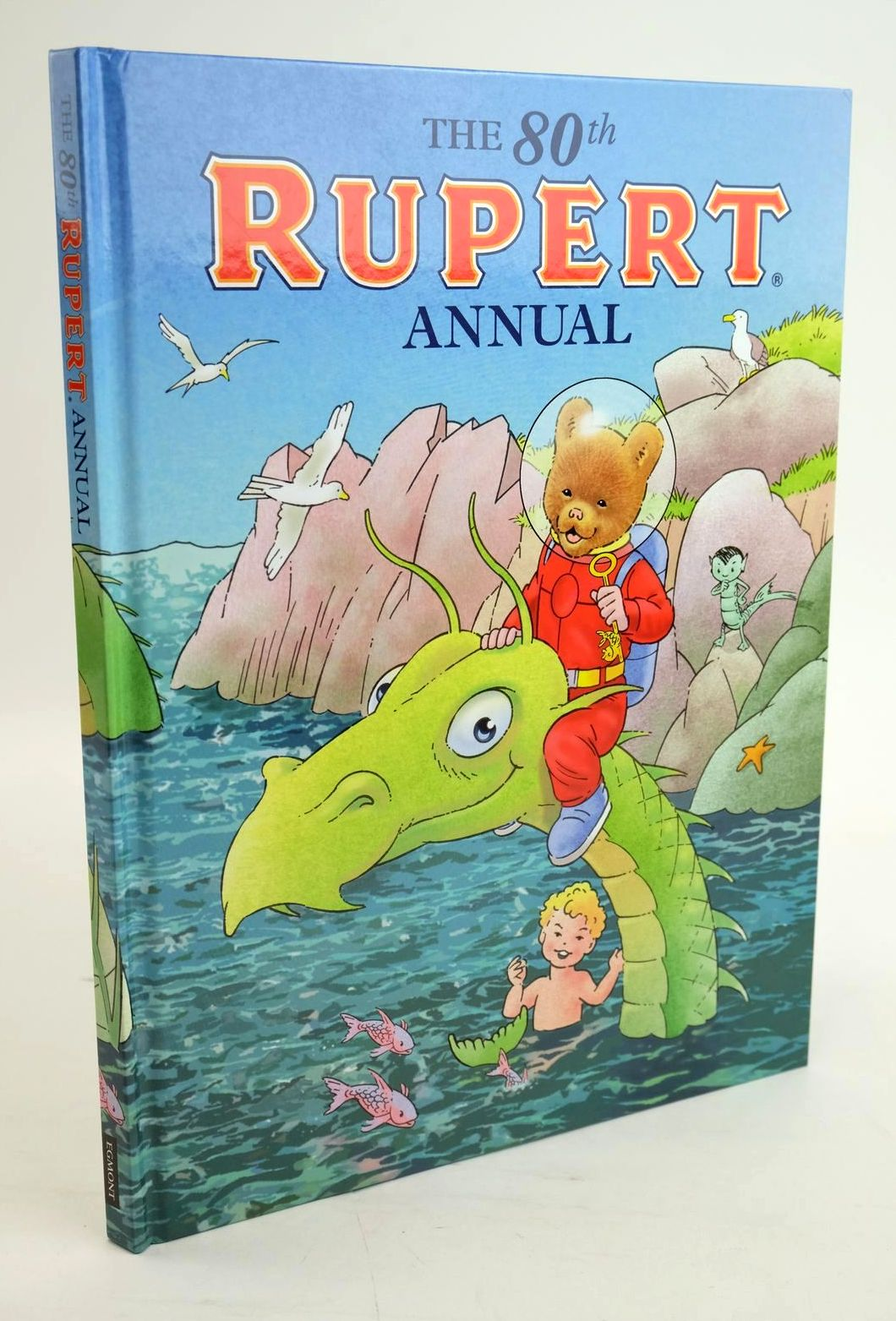 Photo of RUPERT ANNUAL 2015 written by Milton, Stephanie illustrated by Trotter, Stuart