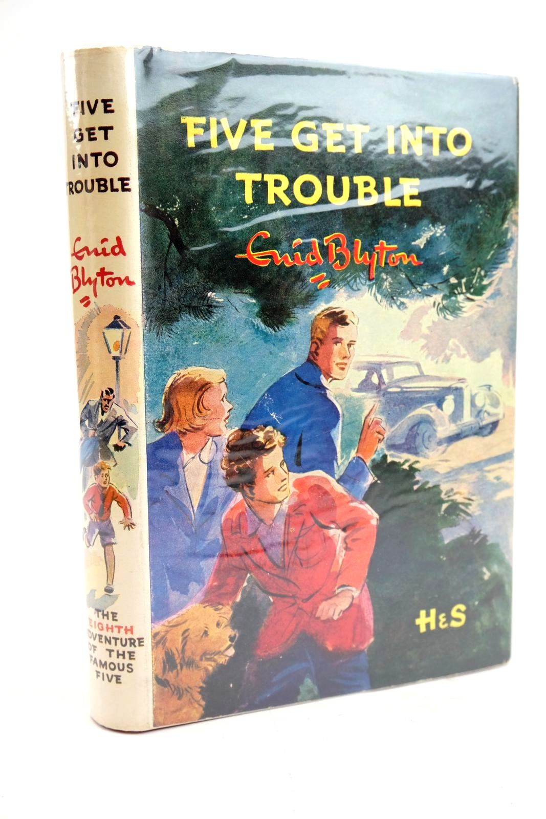 Photo of FIVE GET INTO TROUBLE written by Blyton, Enid illustrated by Soper, Eileen published by Hodder & Stoughton (STOCK CODE: 1319573)  for sale by Stella & Rose's Books