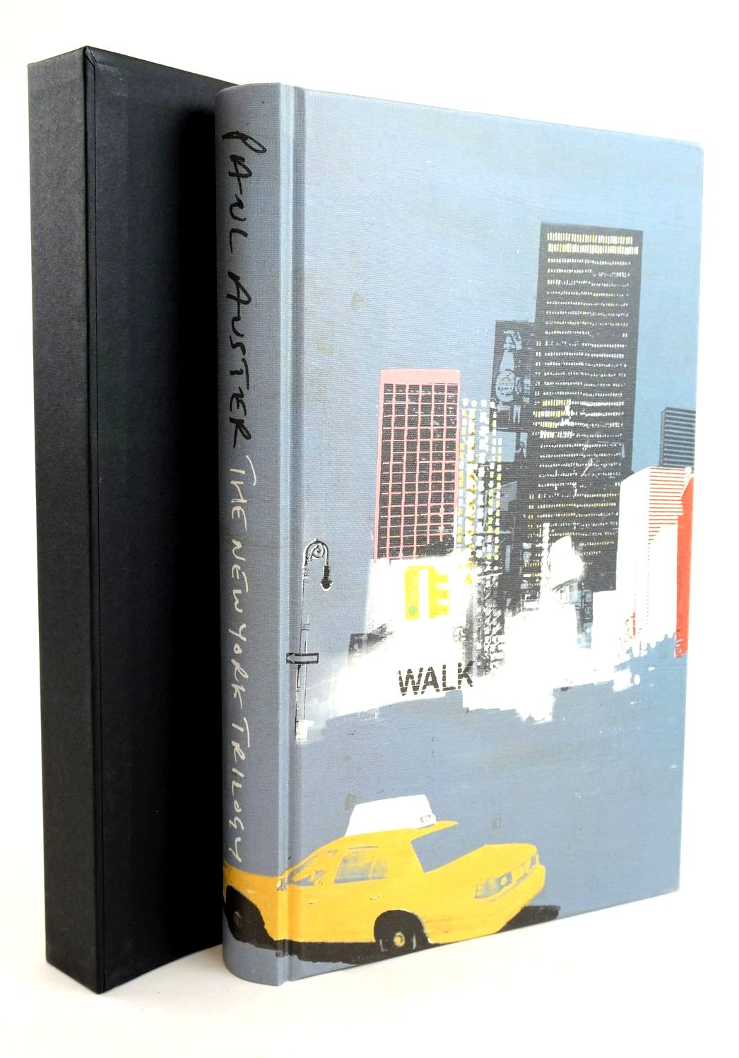 Photo of THE NEW YORK TRILOGY written by Auster, Paul illustrated by Burns, Tom published by Folio Society (STOCK CODE: 1319574)  for sale by Stella & Rose's Books