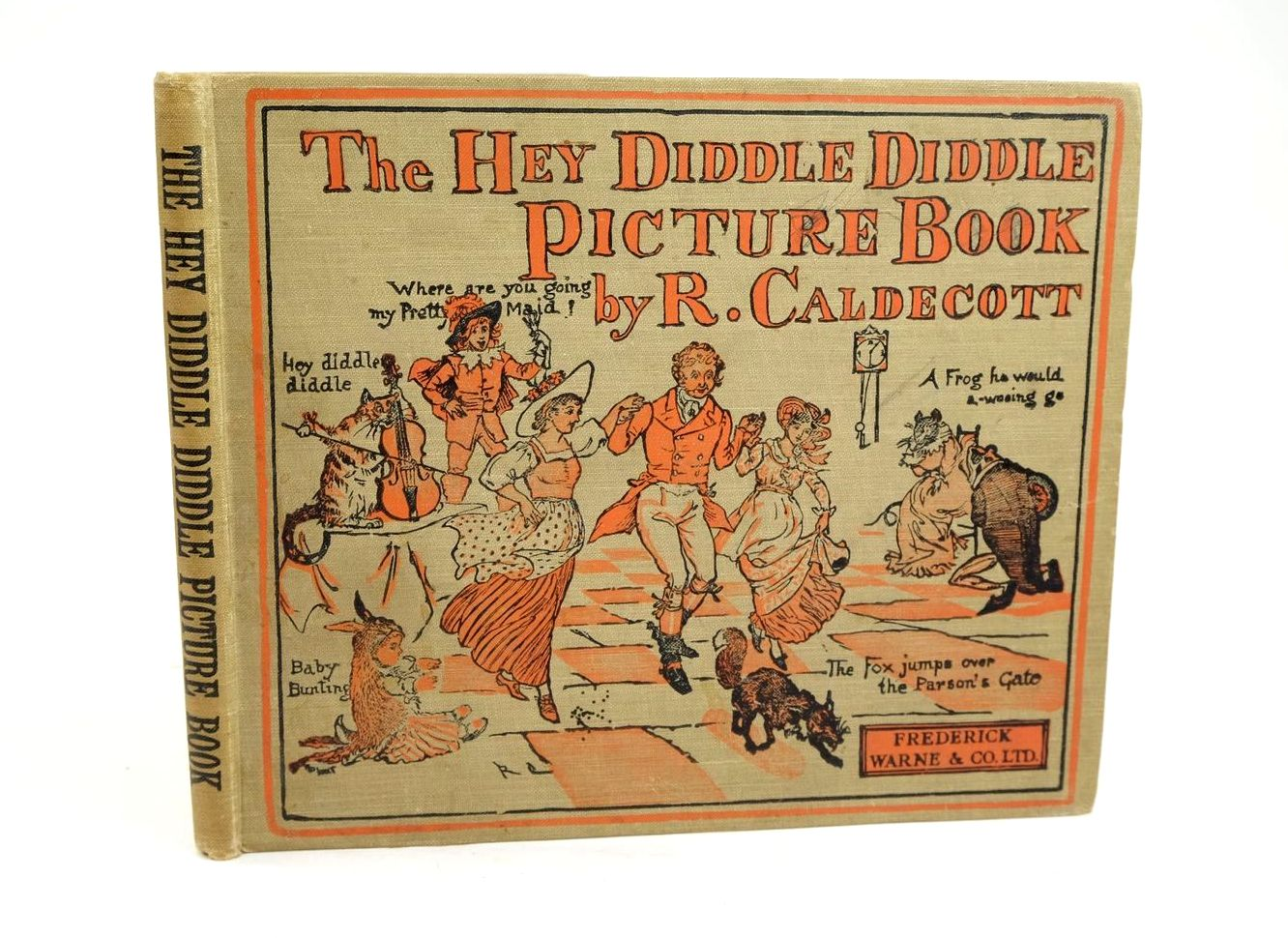 Photo of THE HEY DIDDLE DIDDLE PICTURE BOOK- Stock Number: 1319583