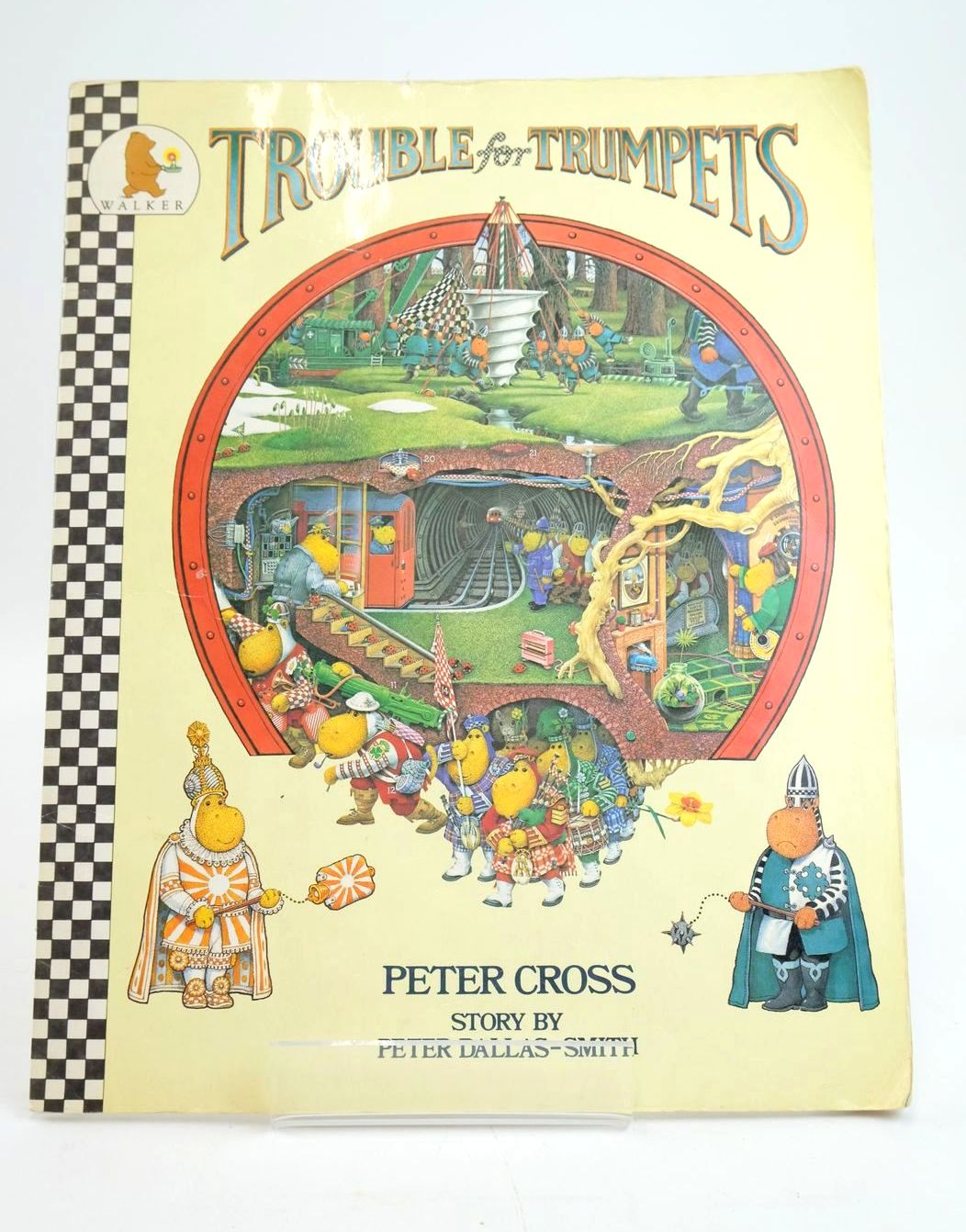 Photo of TROUBLE FOR TRUMPETS written by Dallas-Smith, Peter illustrated by Cross, Peter published by Walker Books (STOCK CODE: 1319586)  for sale by Stella & Rose's Books