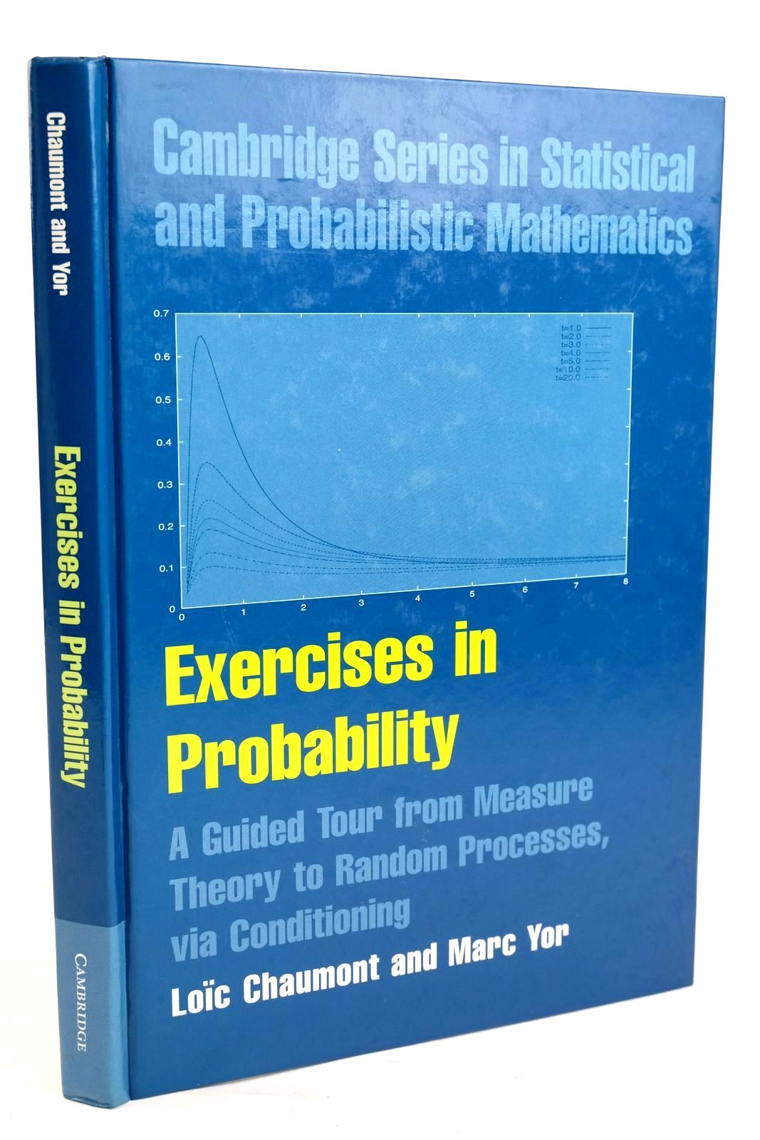 Photo of EXERCISES IN PROBABILITY written by Chaumont, L. Yor, M. published by Cambridge University Press (STOCK CODE: 1319628)  for sale by Stella & Rose's Books