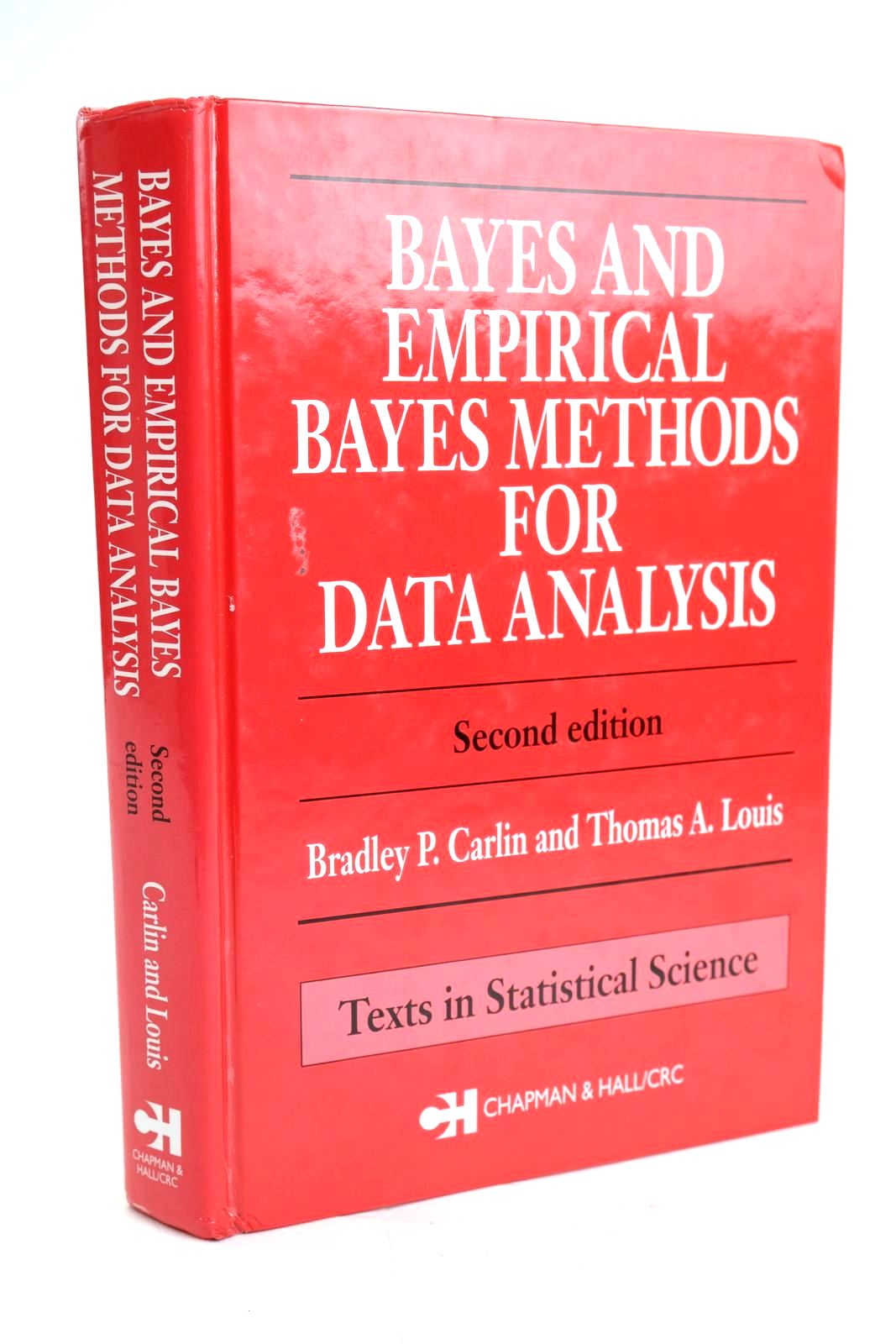 Photo of BAYES AND EMPIRICAL BAYES METHODS FOR DATA ANALYSIS- Stock Number: 1319630