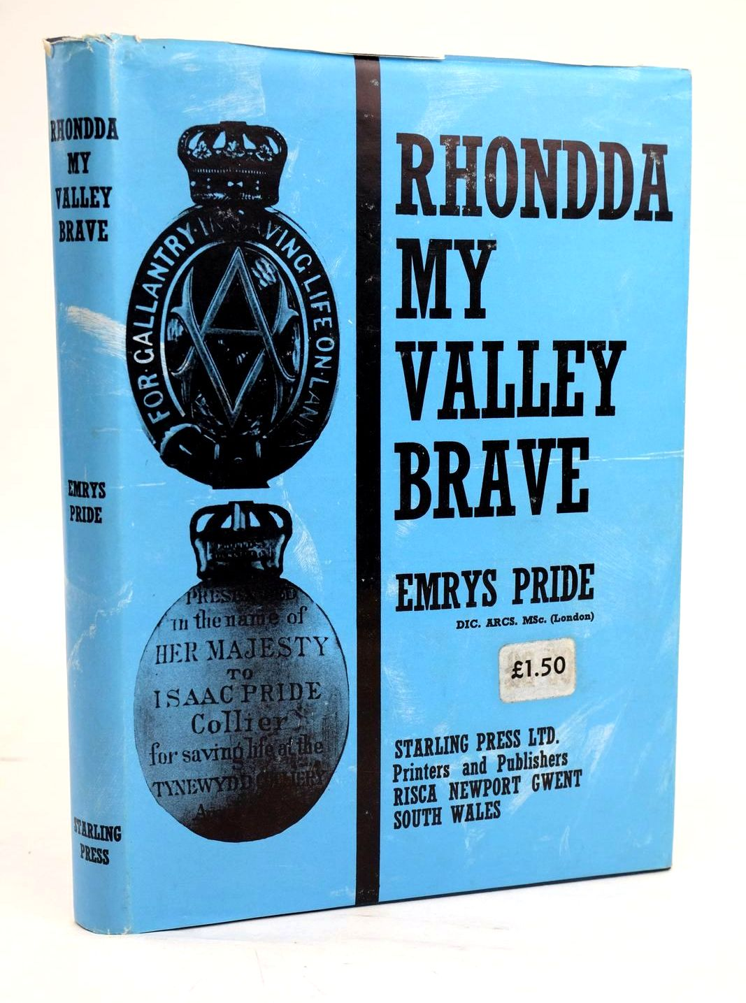 Photo of RHONDDA MY VALLEY BRAVE written by Pride, Emrys Thomas, George published by The Starling Press (STOCK CODE: 1319632)  for sale by Stella & Rose's Books