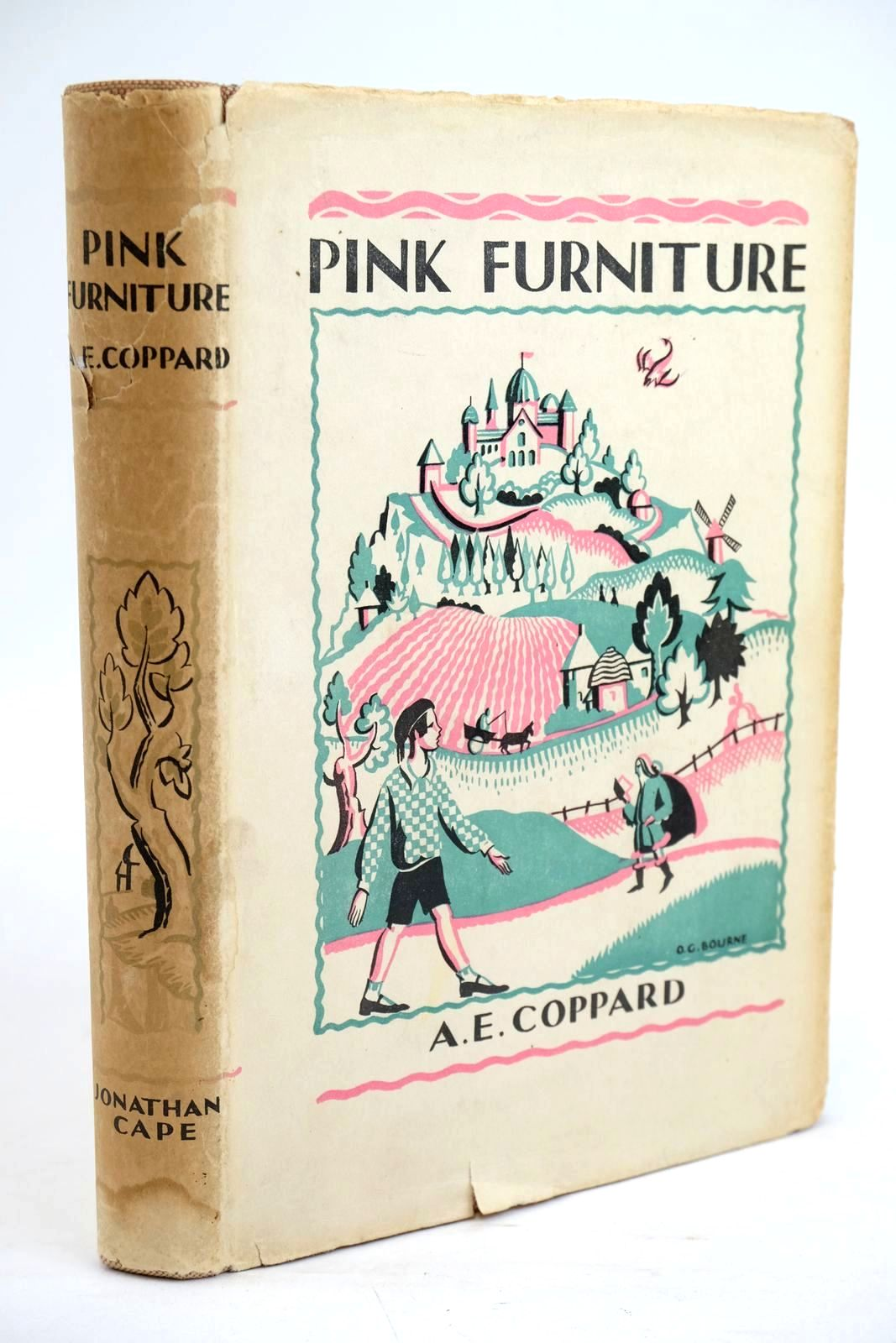 Photo of PINK FURNITURE written by Coppard, A.E. illustrated by Gurney, Nancy Bankart published by Jonathan Cape (STOCK CODE: 1319634)  for sale by Stella & Rose's Books