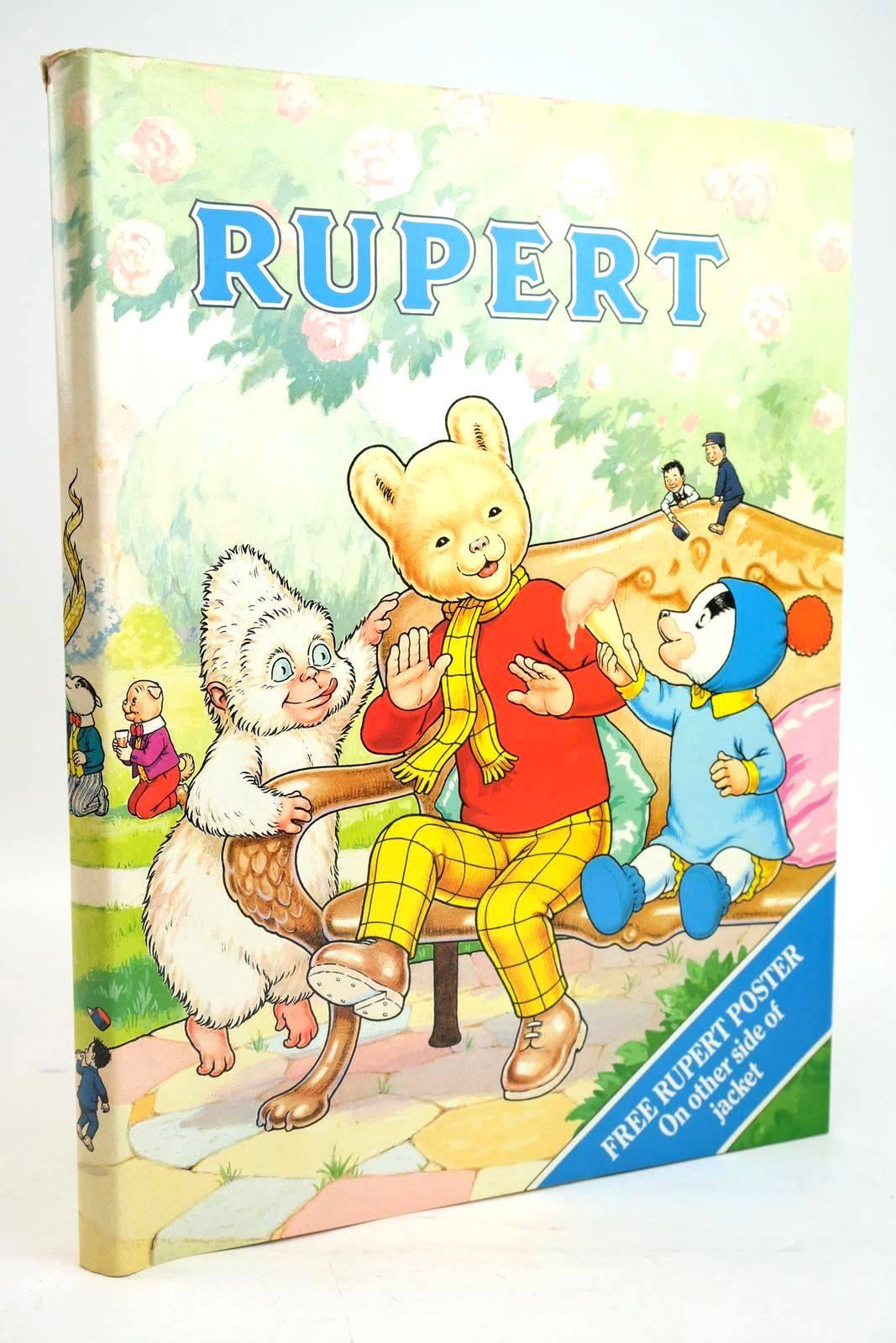 Photo of RUPERT ANNUAL 1990 written by Henderson, James illustrated by Harrold, John published by Daily Express (STOCK CODE: 1319646)  for sale by Stella & Rose's Books