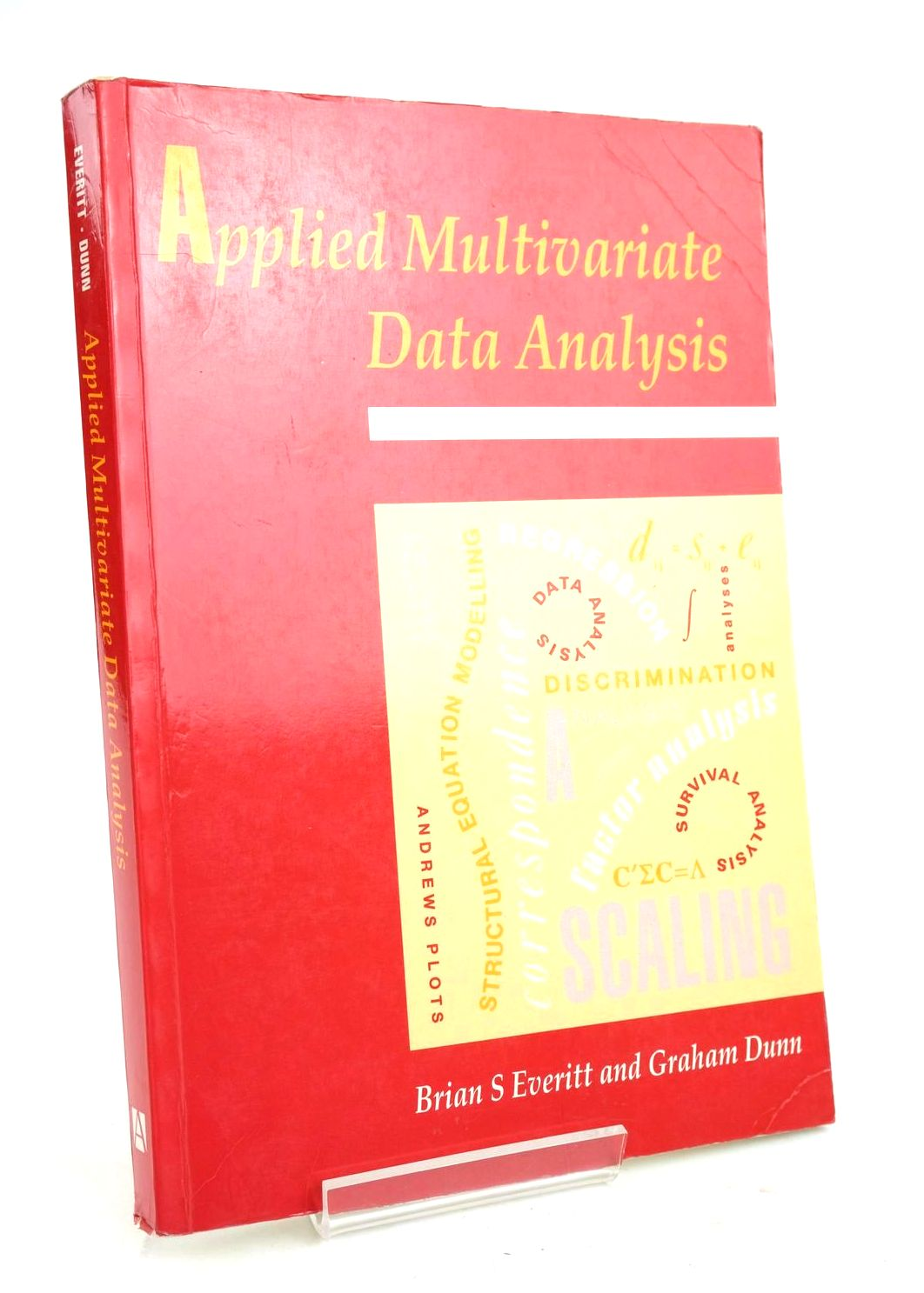 Photo of APPLIED MULTIVARIATE DATA ANALYSIS- Stock Number: 1319664