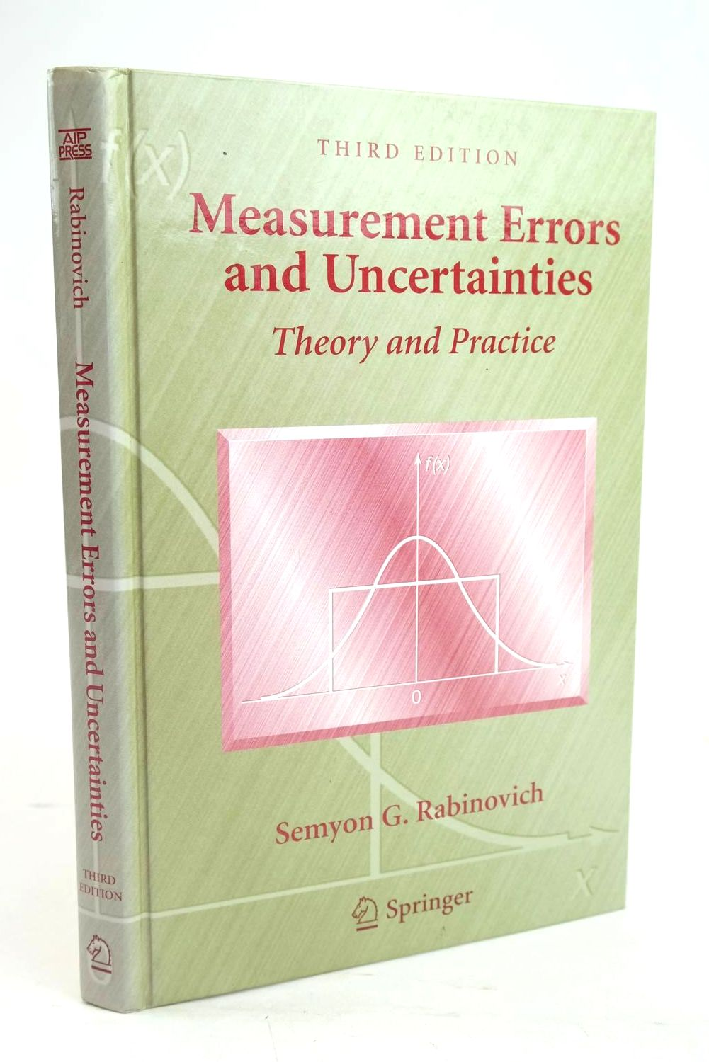 Photo of MEASUREMENT ERRORS AND UNCERTAINTIES - THEORY AND PRACTICE- Stock Number: 1319670