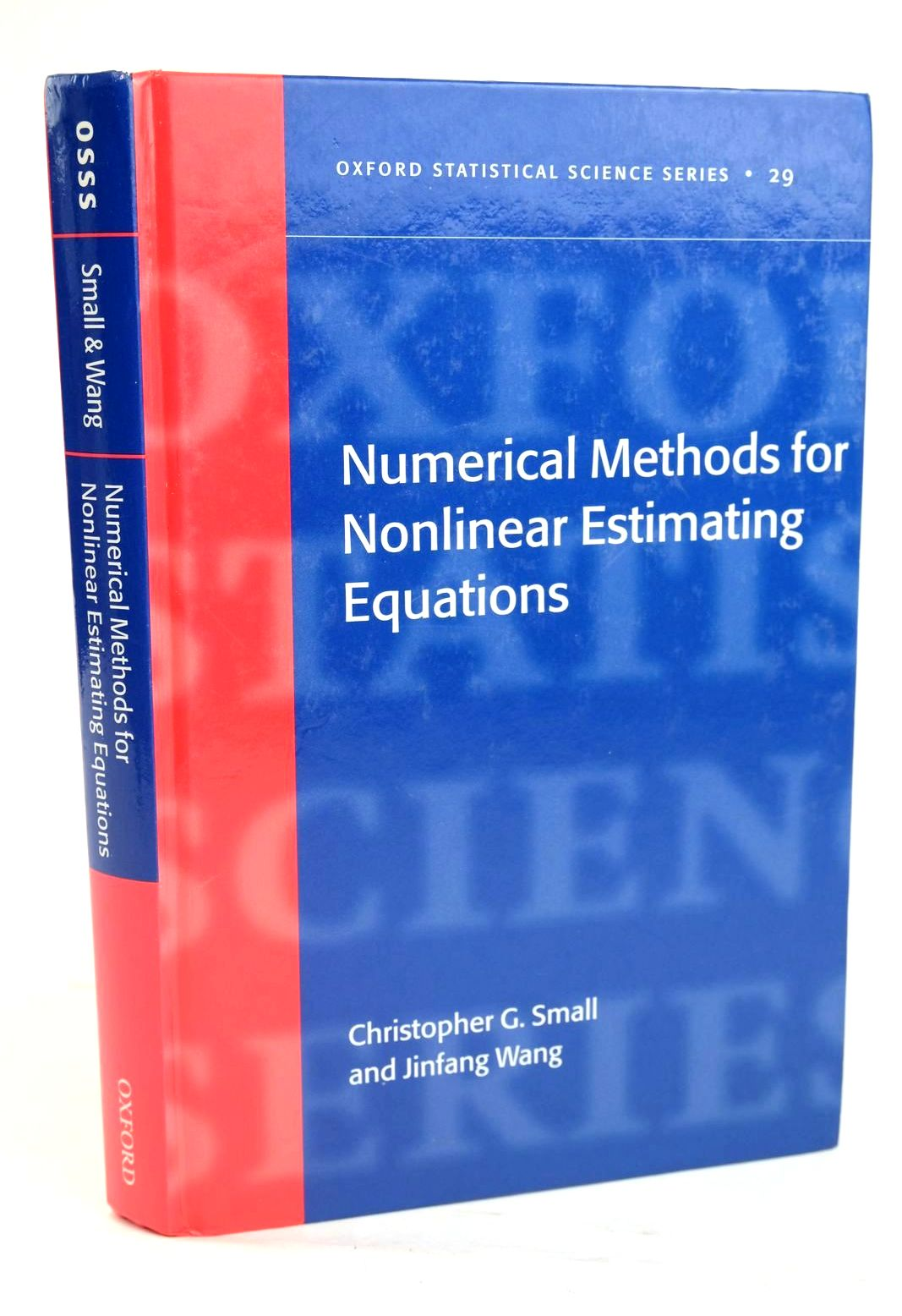 Photo of NUMERICAL METHODS FOR NONLINEAR ESTIMATING EQUATIONS- Stock Number: 1319671