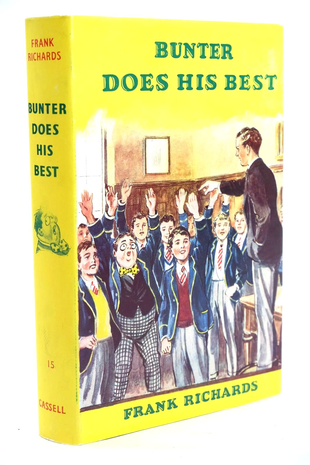 Photo of BUNTER DOES HIS BEST written by Richards, Frank illustrated by Macdonald, R.J. published by Cassell & Co. Ltd. (STOCK CODE: 1319698)  for sale by Stella & Rose's Books