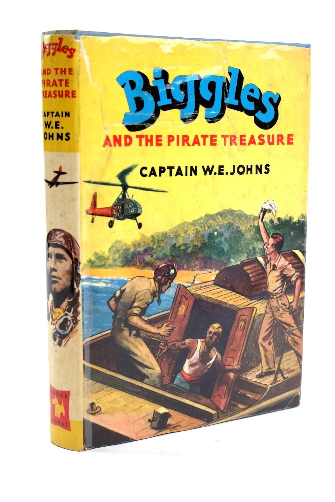 Photo of BIGGLES AND THE PIRATE TREASURE written by Johns, W.E. illustrated by Stead, Leslie published by Brockhampton Press (STOCK CODE: 1319720)  for sale by Stella & Rose's Books