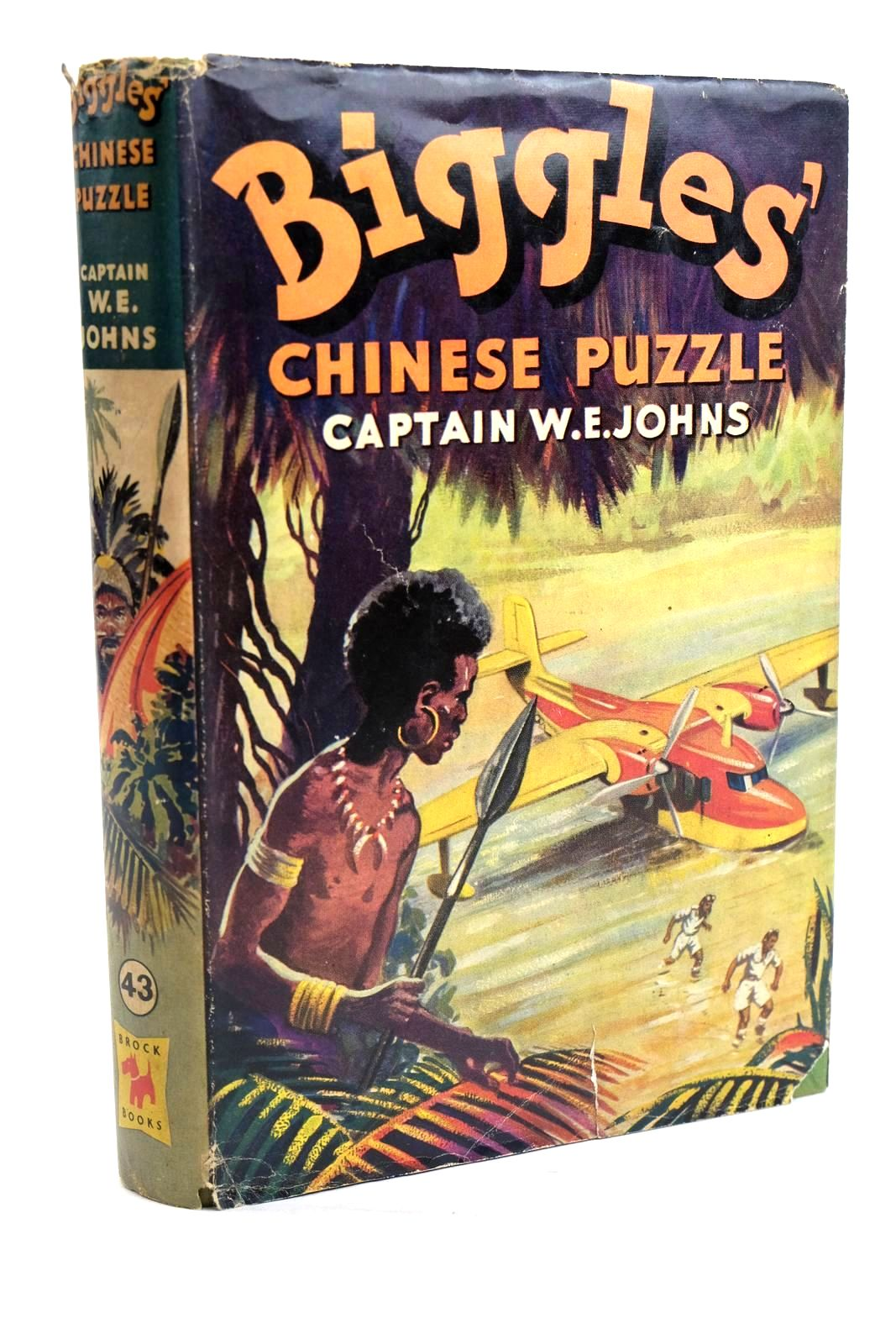 Photo of BIGGLES' CHINESE PUZZLE written by Johns, W.E. illustrated by Stead, Leslie published by Brockhampton Press Ltd. (STOCK CODE: 1319721)  for sale by Stella & Rose's Books