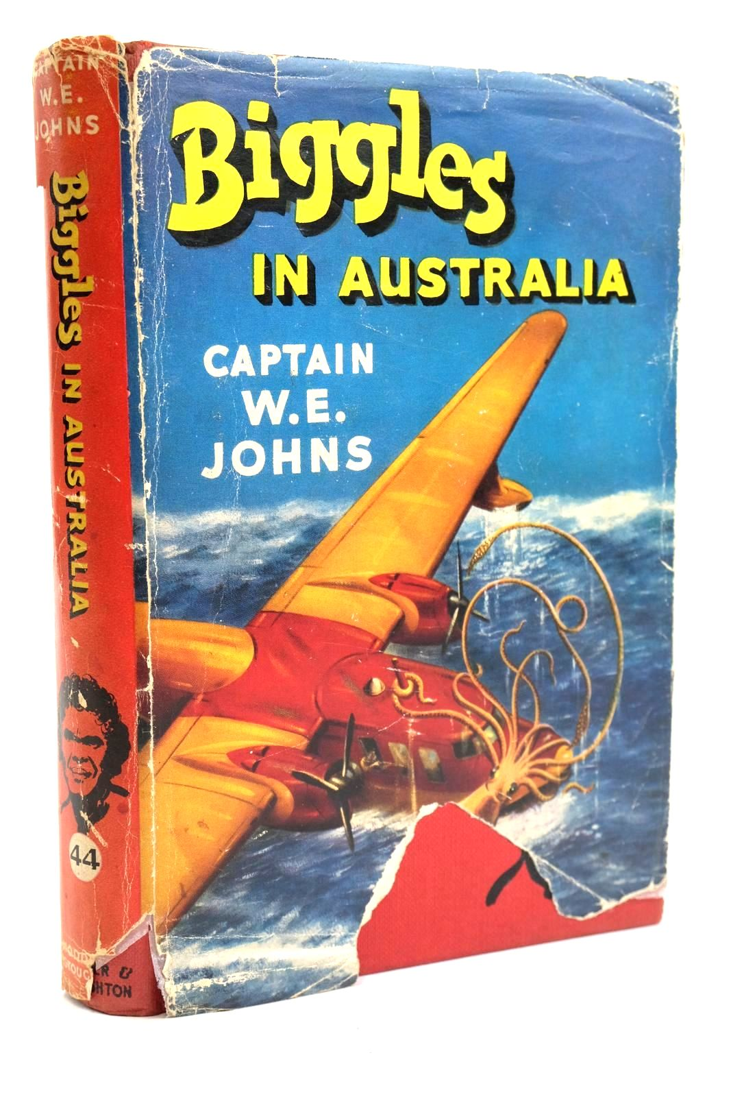 Photo of BIGGLES IN AUSTRALIA written by Johns, W.E. illustrated by Stead, Studio published by Hodder & Stoughton (STOCK CODE: 1319727)  for sale by Stella & Rose's Books