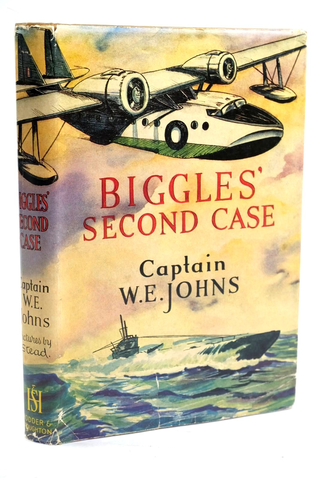 Photo of BIGGLES' SECOND CASE written by Johns, W.E. illustrated by Stead,  published by Hodder & Stoughton (STOCK CODE: 1319741)  for sale by Stella & Rose's Books