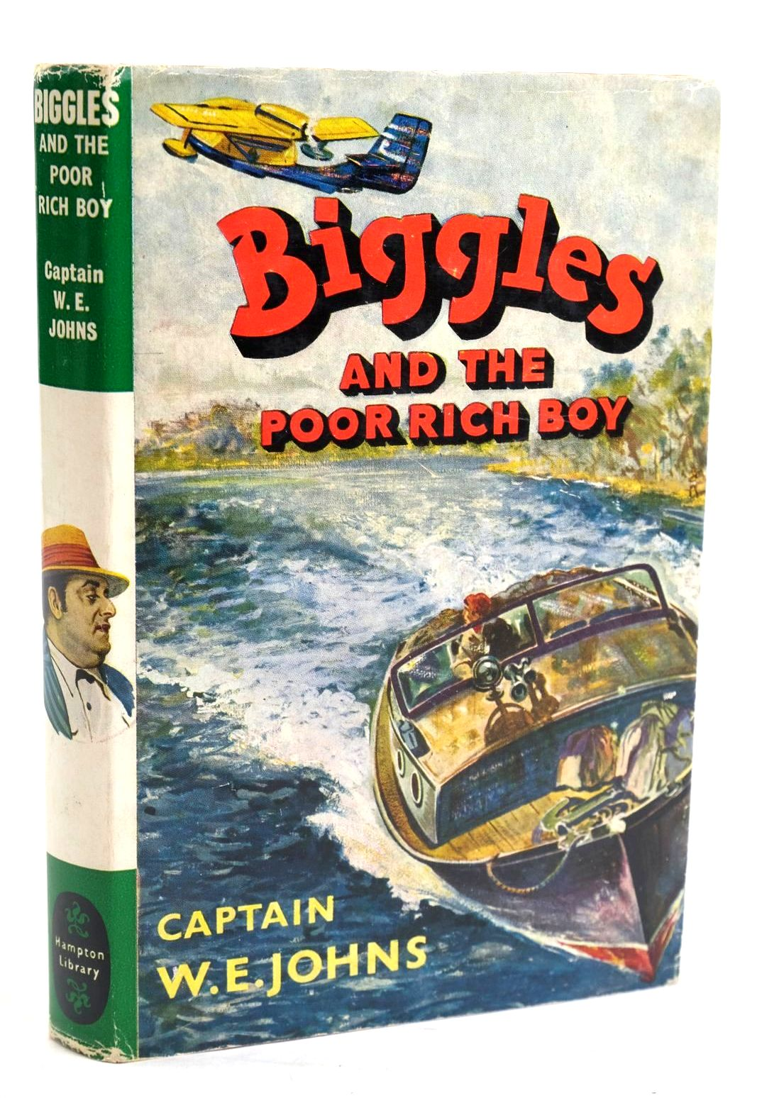 Photo of BIGGLES AND THE POOR RICH BOY written by Johns, W.E. illustrated by Stead, Leslie published by Brockhampton Press Ltd. (STOCK CODE: 1319743)  for sale by Stella & Rose's Books