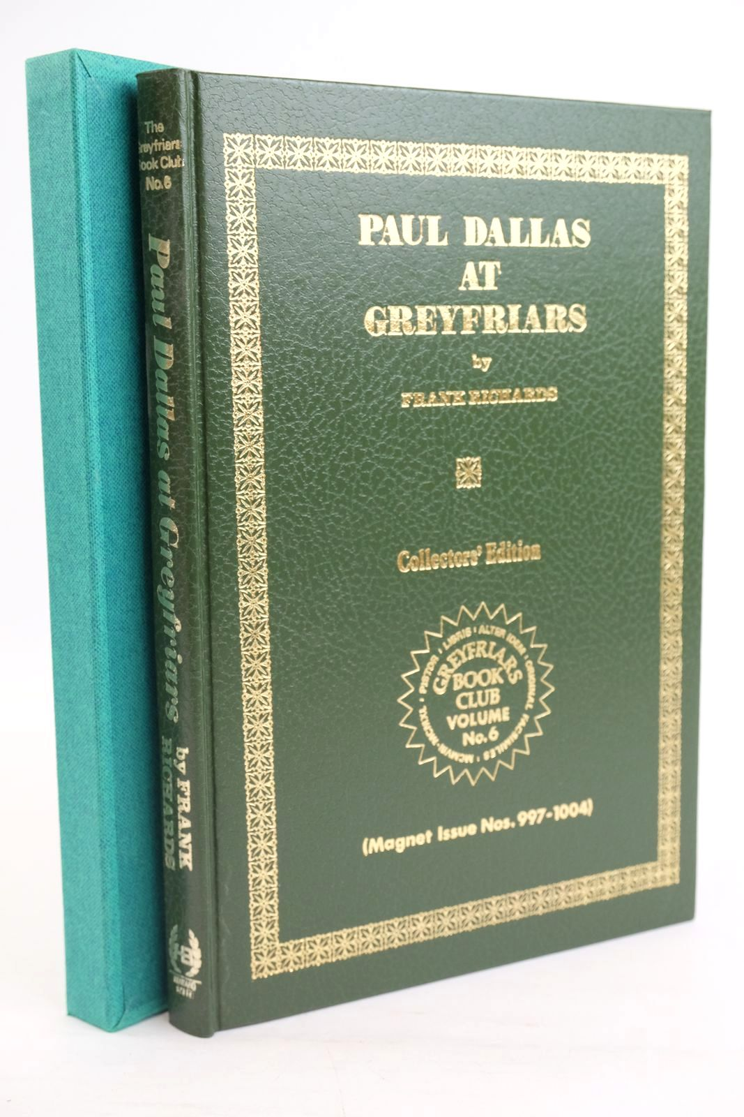 Photo of PAUL DALLAS AT GREYFRIARS written by Richards, Frank published by Howard Baker Press (STOCK CODE: 1319767)  for sale by Stella & Rose's Books