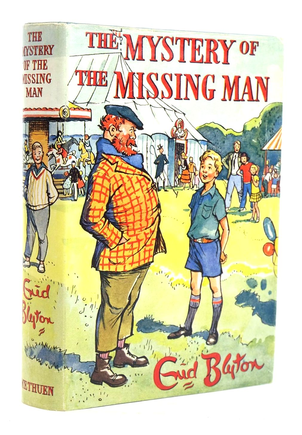 Photo of THE MYSTERY OF THE MISSING MAN- Stock Number: 1319772