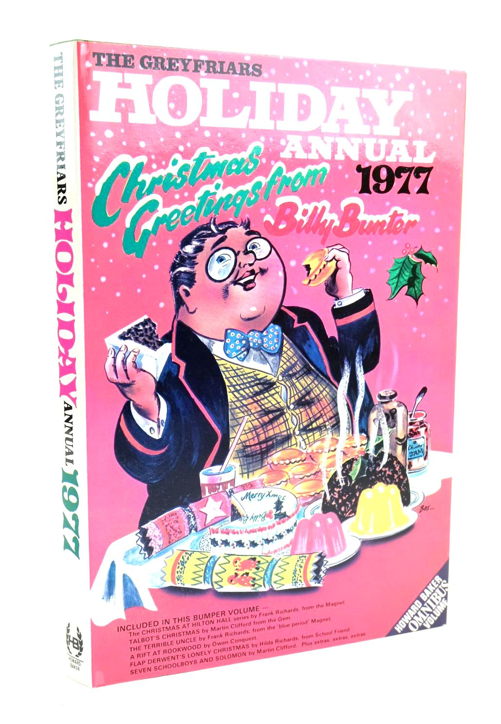 Photo of THE GREYFRIARS HOLIDAY ANNUAL 1977 written by Richards, Frank published by Howard Baker (STOCK CODE: 1319780)  for sale by Stella & Rose's Books