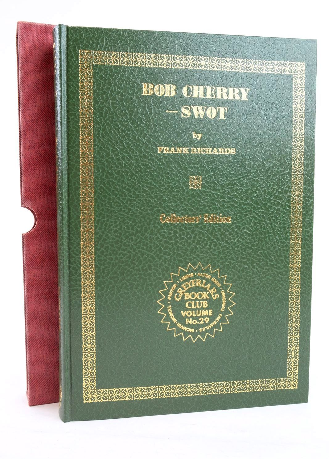 Photo of BOB CHERRY - SWOT written by Richards, Frank published by Howard Baker (STOCK CODE: 1319791)  for sale by Stella & Rose's Books