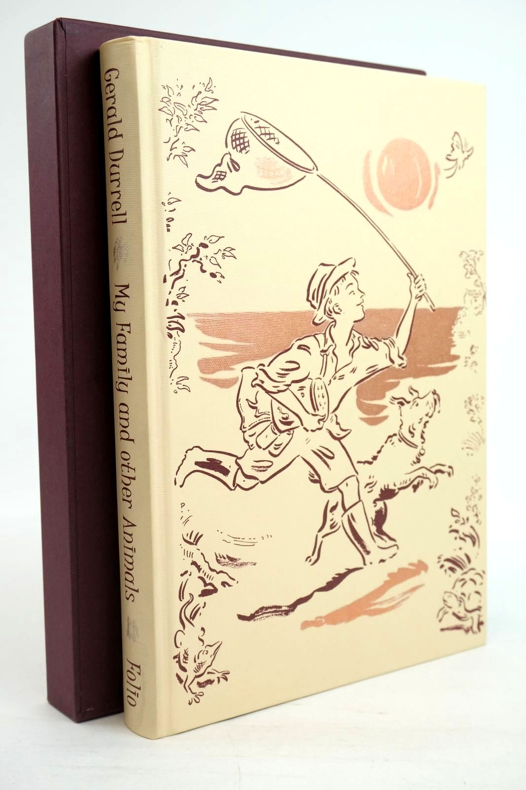 Photo of MY FAMILY AND OTHER ANIMALS written by Durrell, Gerald illustrated by Cox, Paul published by Folio Society (STOCK CODE: 1319821)  for sale by Stella & Rose's Books