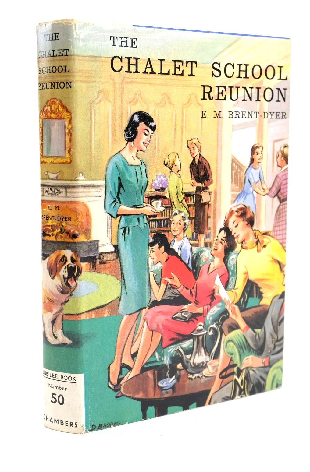 Photo of THE CHALET SCHOOL REUNION written by Brent-Dyer, Elinor M. illustrated by Brook, Dorothy published by W. & R. Chambers Limited (STOCK CODE: 1319837)  for sale by Stella & Rose's Books