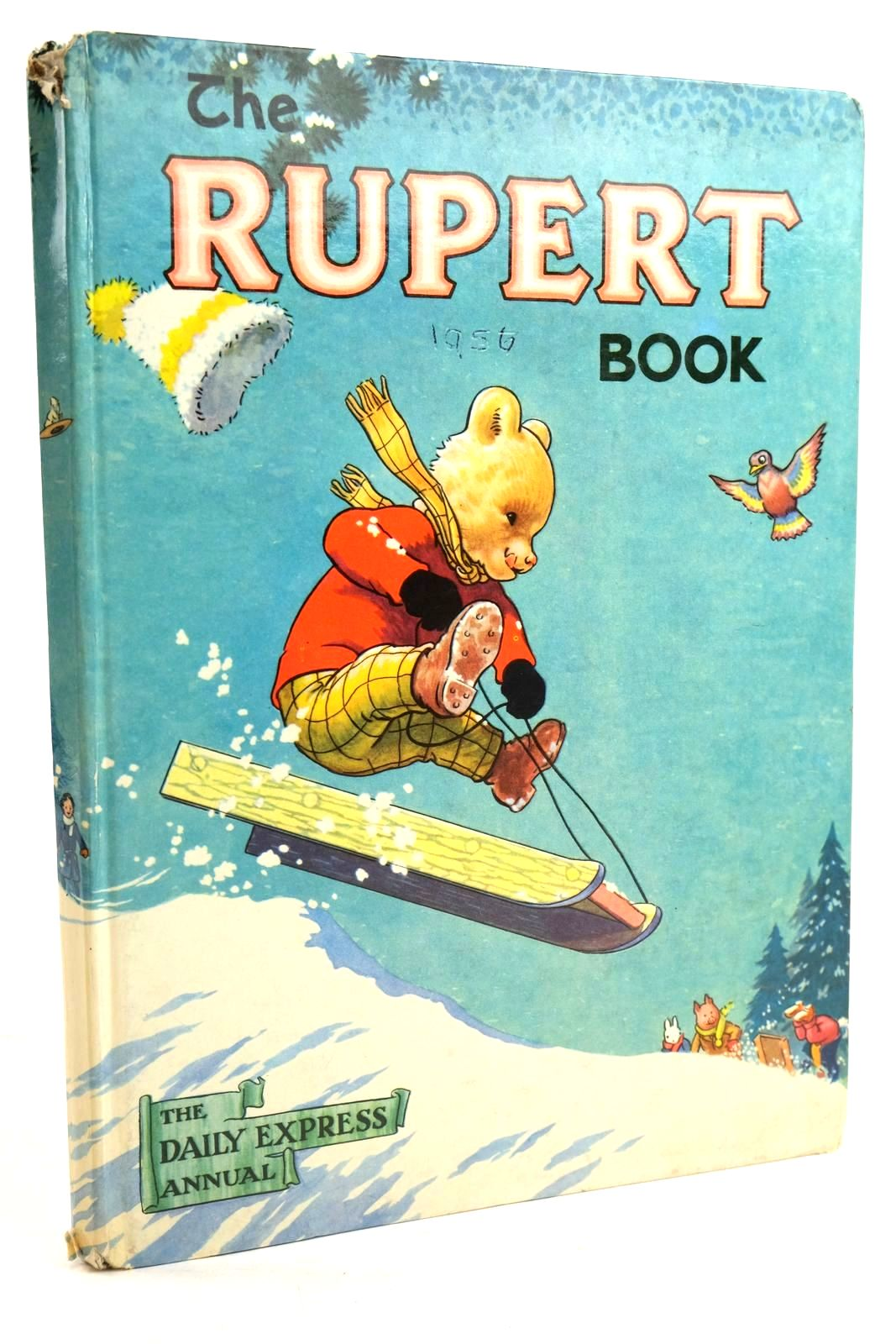 Photo of RUPERT ANNUAL 1956 - THE RUPERT BOOK written by Bestall, Alfred illustrated by Bestall, Alfred published by Oldbourne Book Co. Ltd. (STOCK CODE: 1319838)  for sale by Stella & Rose's Books
