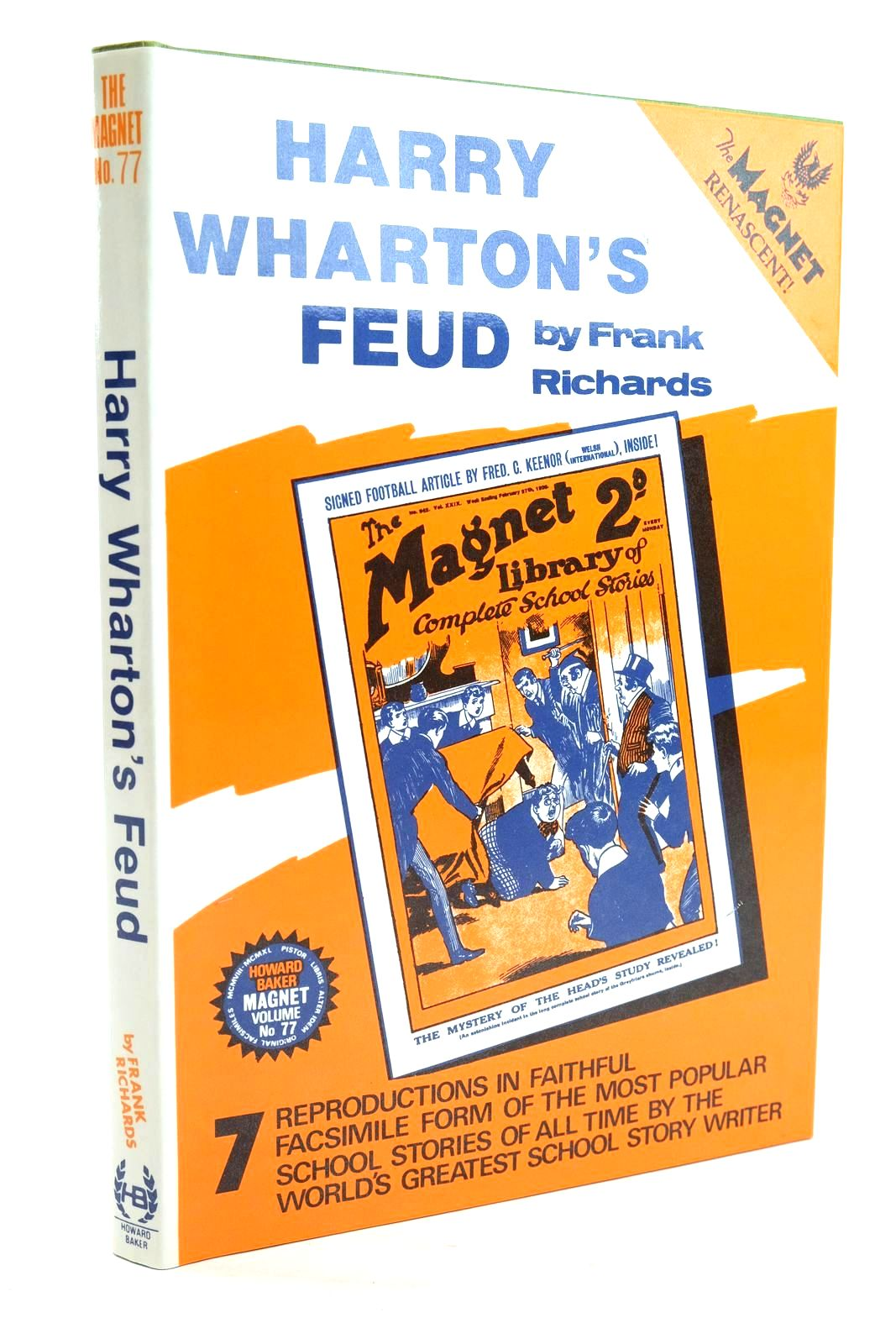 Photo of HARRY WHARTON'S FEUD written by Richards, Frank published by Howard Baker (STOCK CODE: 1319839)  for sale by Stella & Rose's Books