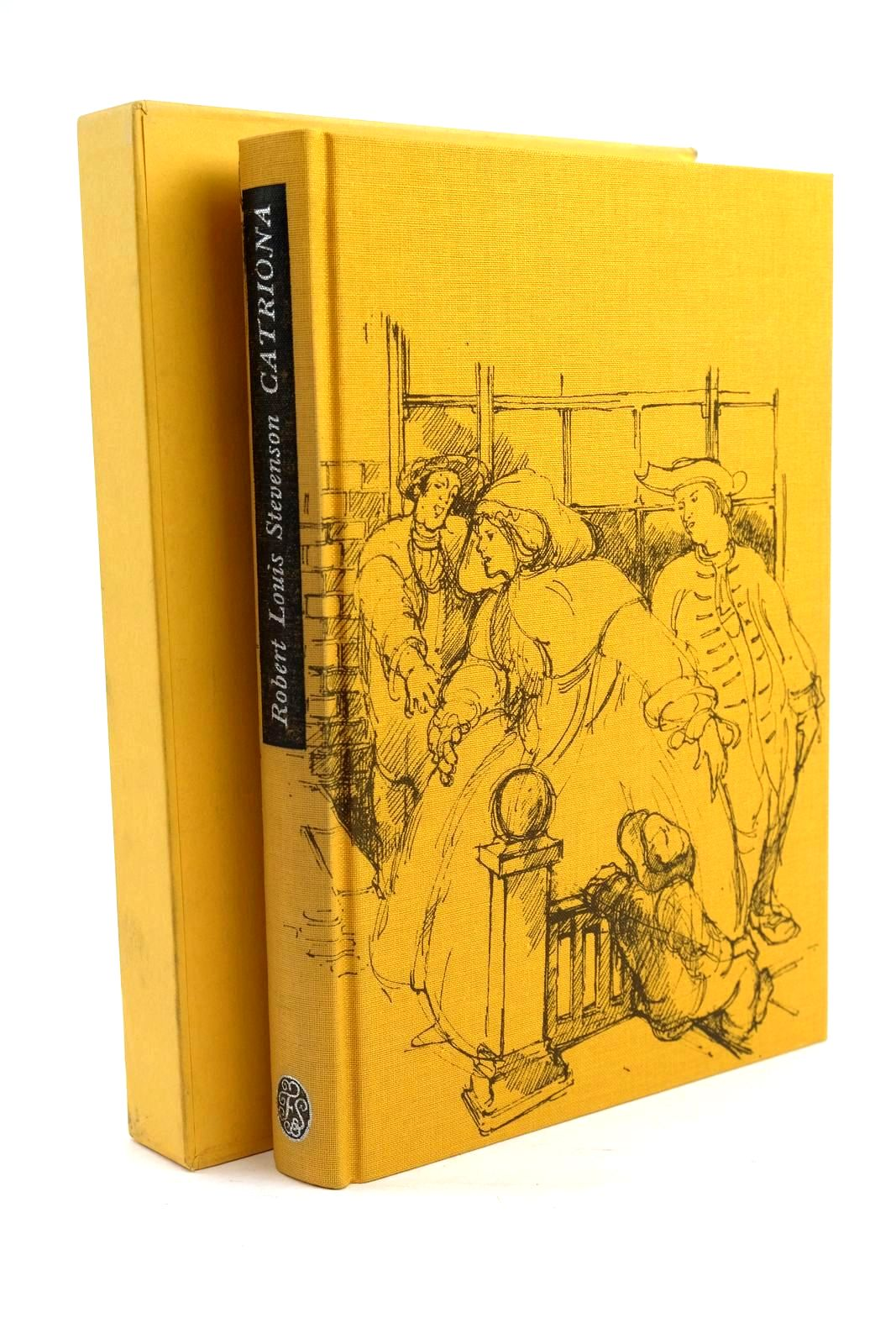 Photo of CATRIONA written by Stevenson, Robert Louis Delaney, Frank illustrated by Newnham, Annie published by Folio Society (STOCK CODE: 1319880)  for sale by Stella & Rose's Books