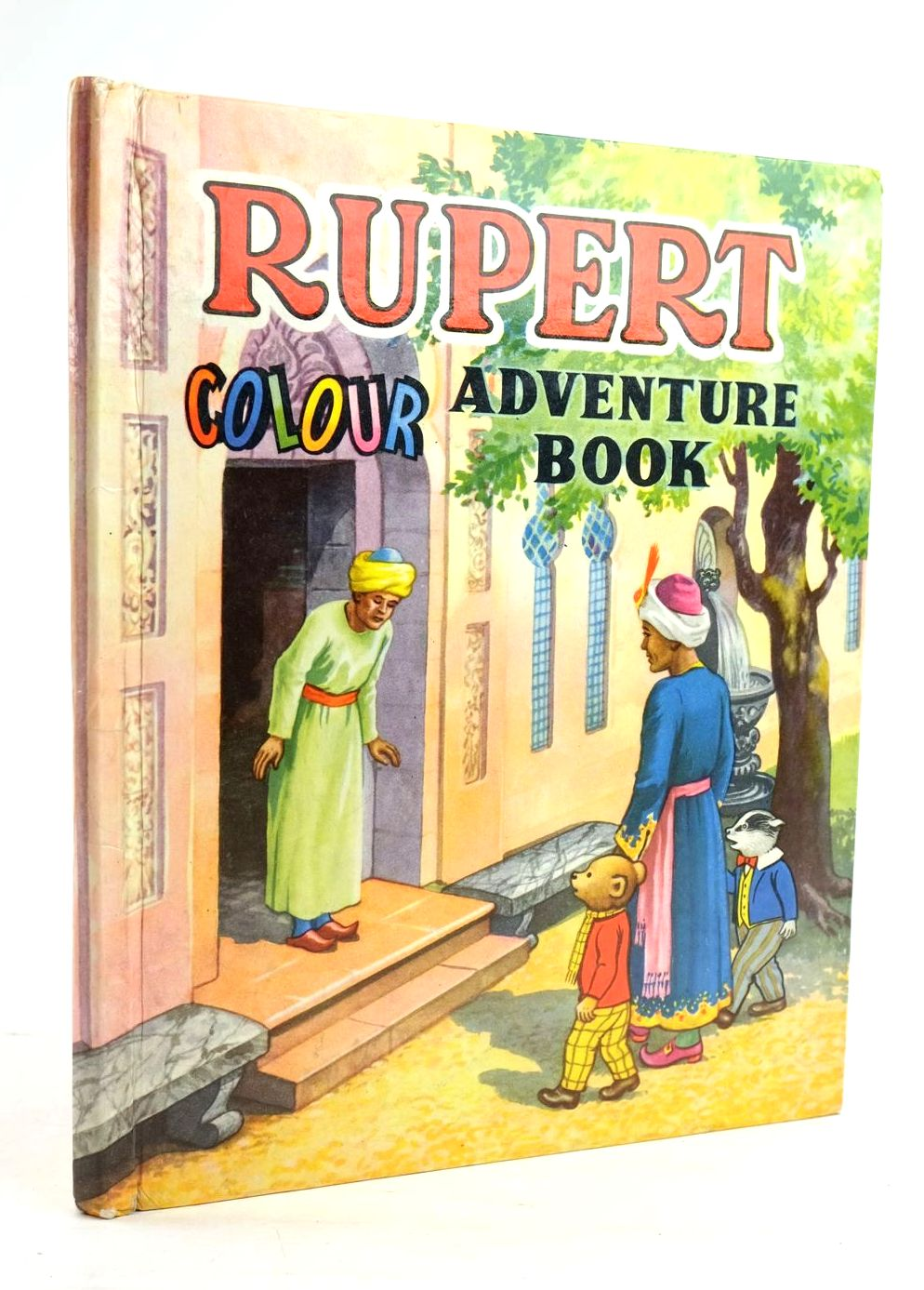 Photo of RUPERT COLOUR ADVENTURE BOOK- Stock Number: 1319925