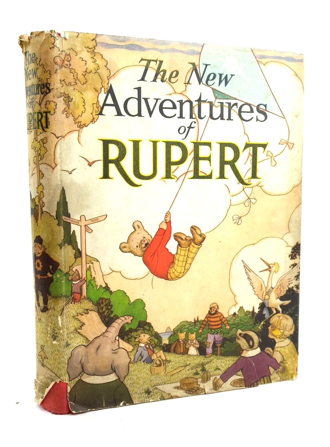 Photo of RUPERT ANNUAL 1936 - THE NEW ADVENTURES OF RUPERT- Stock Number: 1319929
