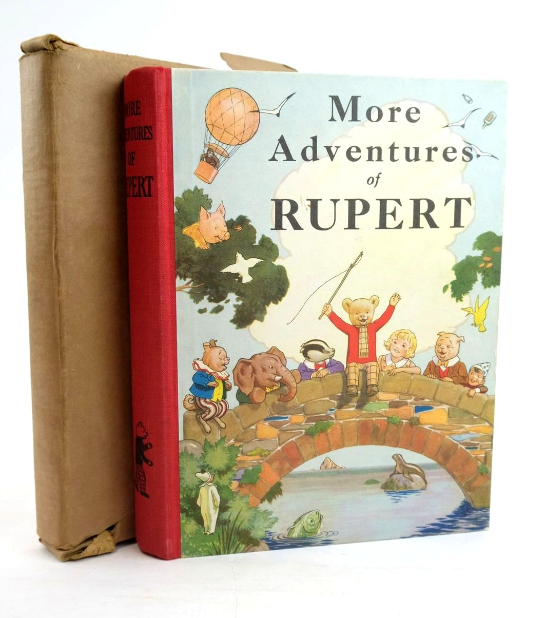 Photo of RUPERT ANNUAL 1937 - MORE ADVENTURES OF RUPERT- Stock Number: 1319930